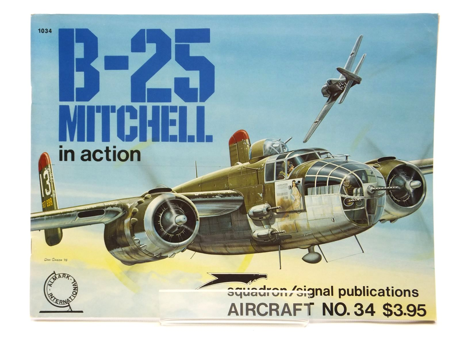 Photo of B-25 MITCHELL IN ACTION written by Mcdowell, Ernest R. illustrated by Greer, Don published by Squadron Signal Publications (STOCK CODE: 2121048)  for sale by Stella & Rose's Books