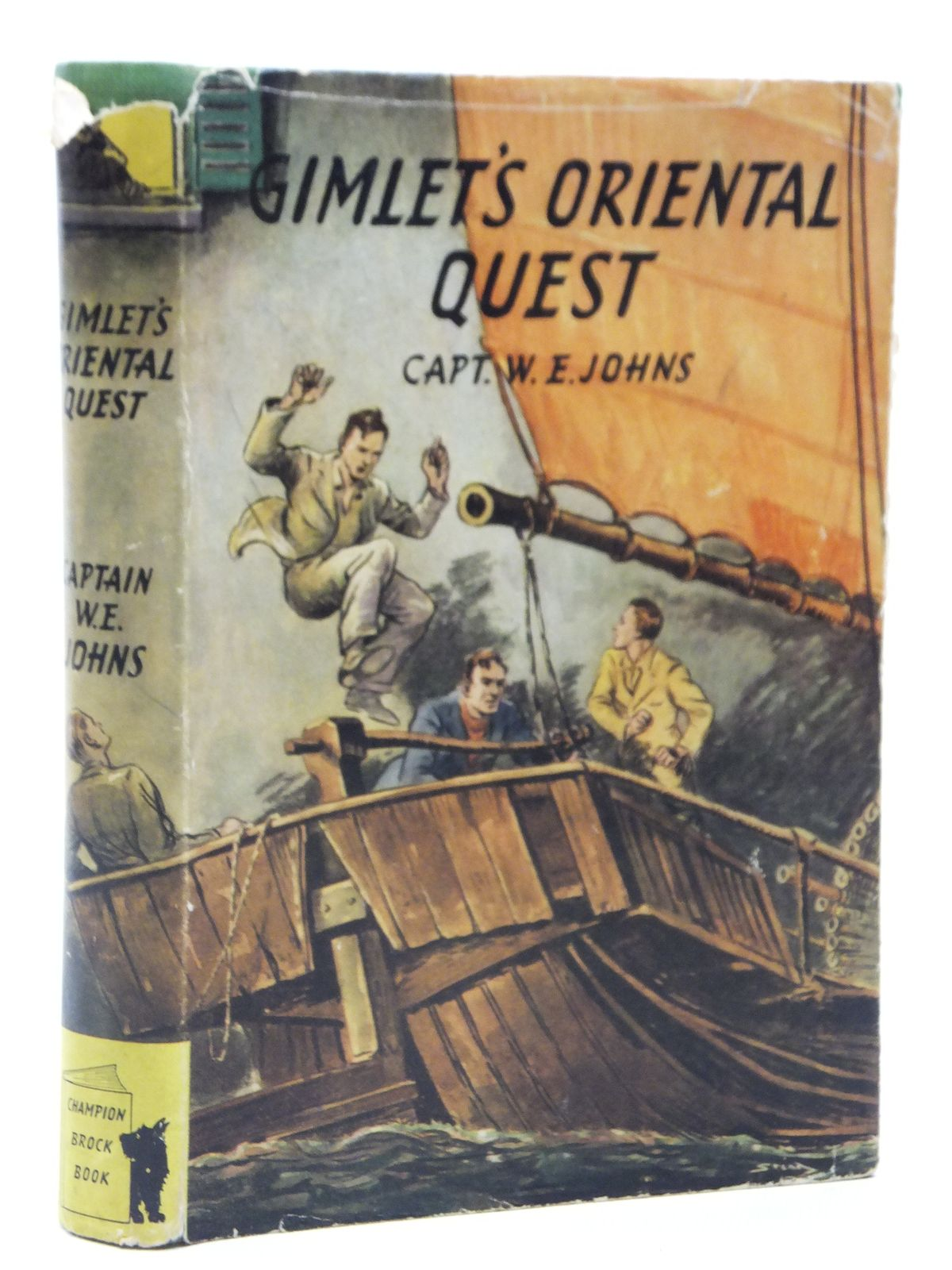 Photo of GIMLET'S ORIENTAL QUEST written by Johns, W.E. illustrated by Stead, Leslie published by Brockhampton Press (STOCK CODE: 2121094)  for sale by Stella & Rose's Books