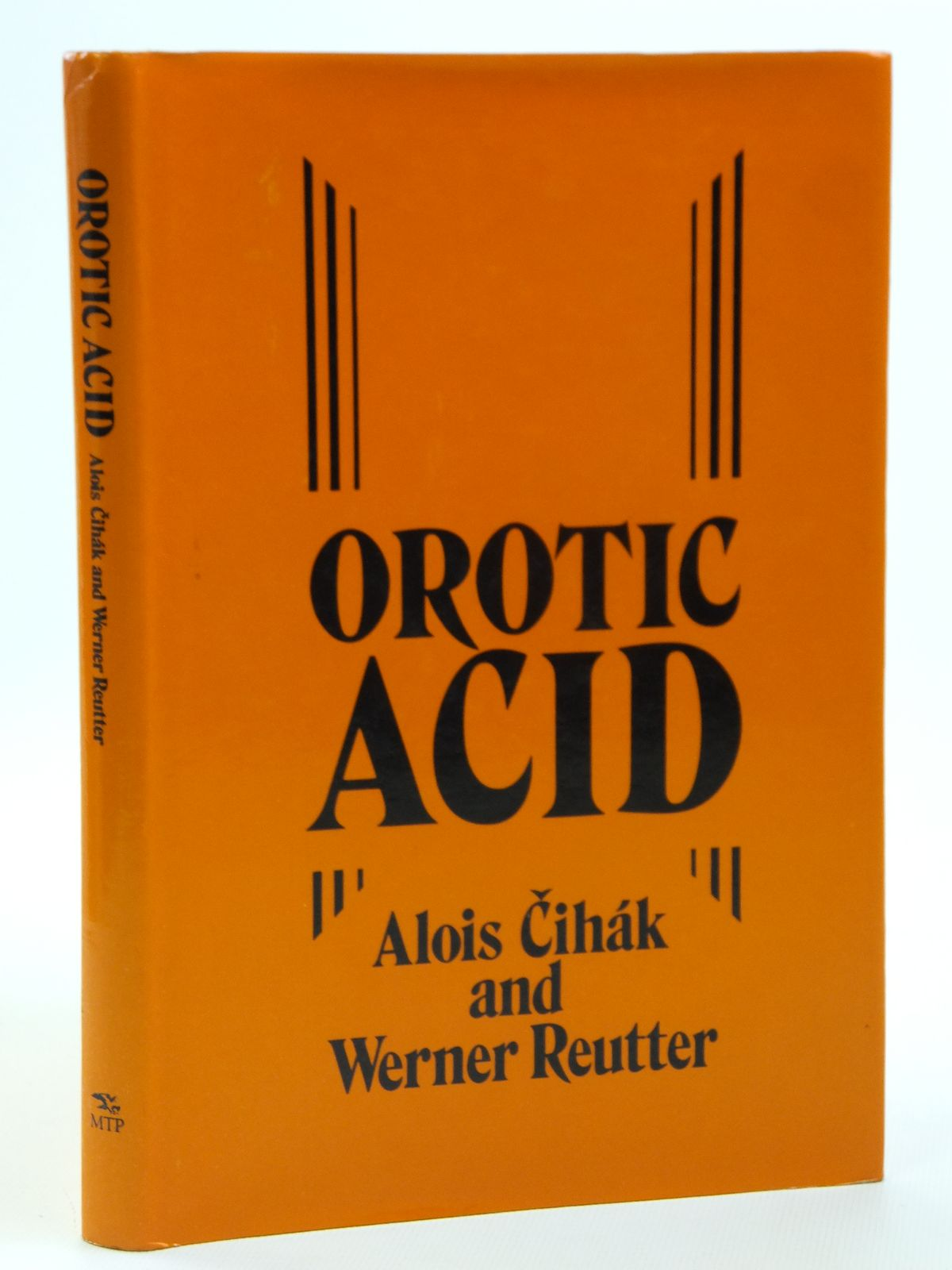 Photo of OROTIC ACID written by Cihak, Alois<br />Reutter, Werner published by Mtp Press Limited (STOCK CODE: 2121105)  for sale by Stella & Rose's Books