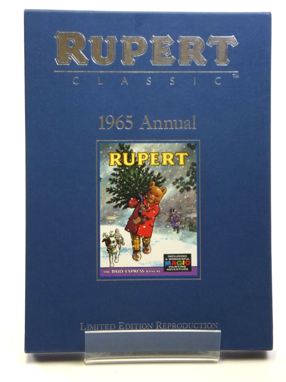 Photo of RUPERT ANNUAL 1965 (FACSIMILE) written by Bestall, Alfred illustrated by Bestall, Alfred published by Egmont Children's Books Ltd. (STOCK CODE: 2121129)  for sale by Stella & Rose's Books