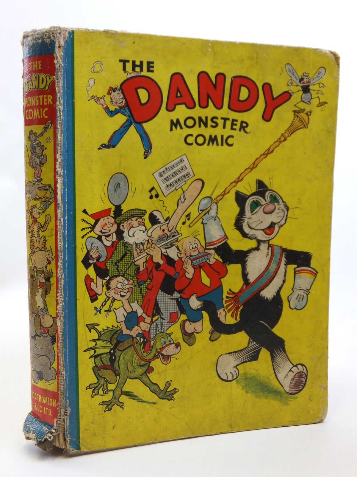 Photo of THE DANDY MONSTER COMIC 1941 published by D.C. Thomson & Co Ltd. (STOCK CODE: 2121195)  for sale by Stella & Rose's Books