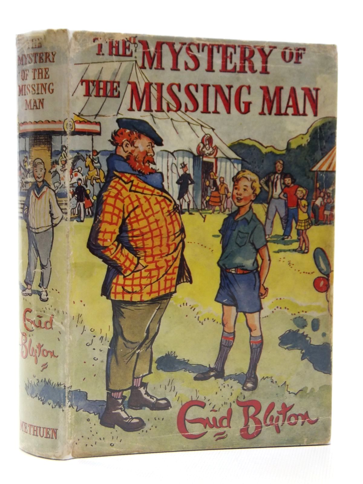 Photo of THE MYSTERY OF THE MISSING MAN written by Blyton, Enid illustrated by Buchanan, Lilian published by Methuen & Co. Ltd. (STOCK CODE: 2121206)  for sale by Stella & Rose's Books