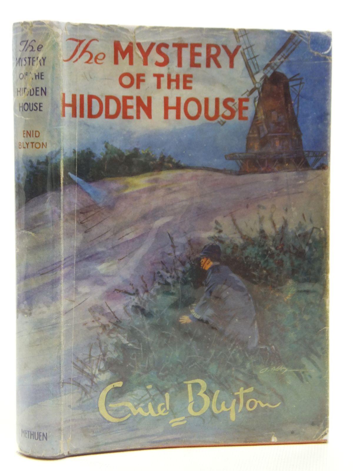 Photo of THE MYSTERY OF THE HIDDEN HOUSE written by Blyton, Enid illustrated by Abbey, J. published by Methuen & Co. Ltd. (STOCK CODE: 2121211)  for sale by Stella & Rose's Books