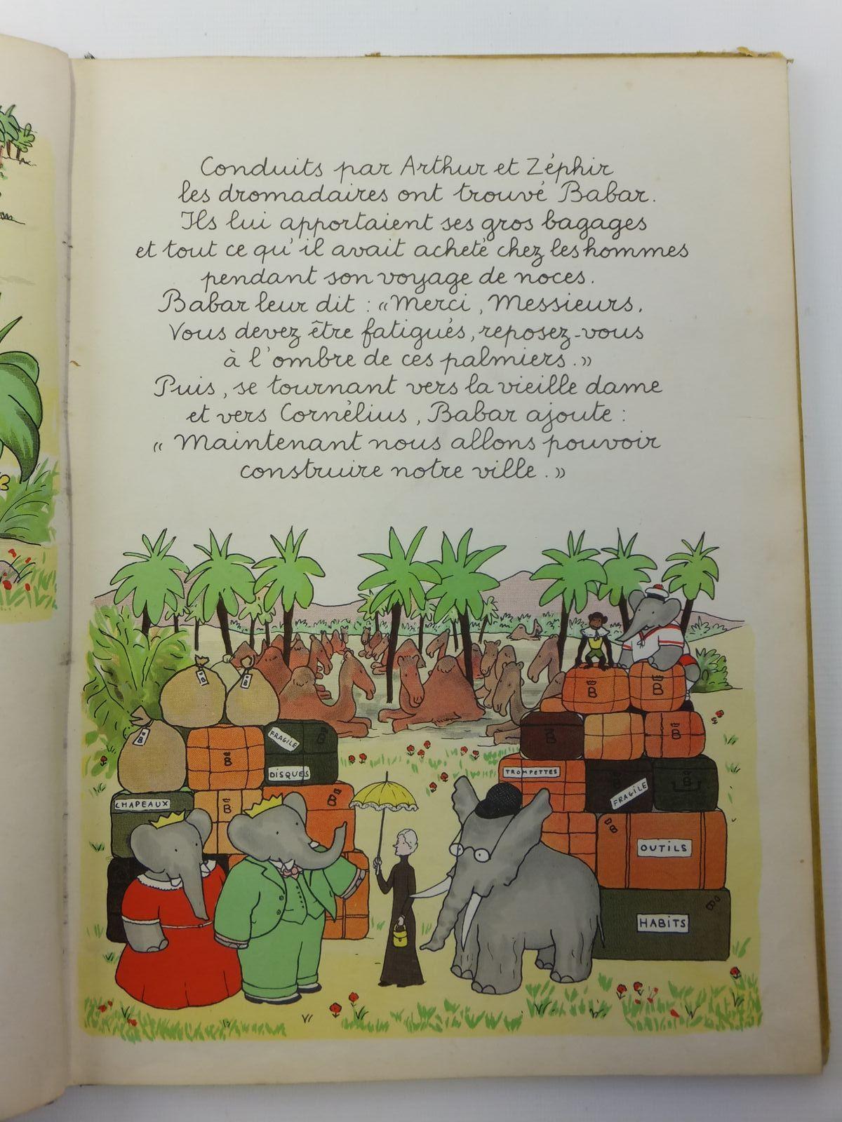 Photo of LE ROI BABAR written by De Brunhoff, Jean illustrated by De Brunhoff, Jean published by Editions Du Jardin Des Modes (STOCK CODE: 2121223)  for sale by Stella & Rose's Books