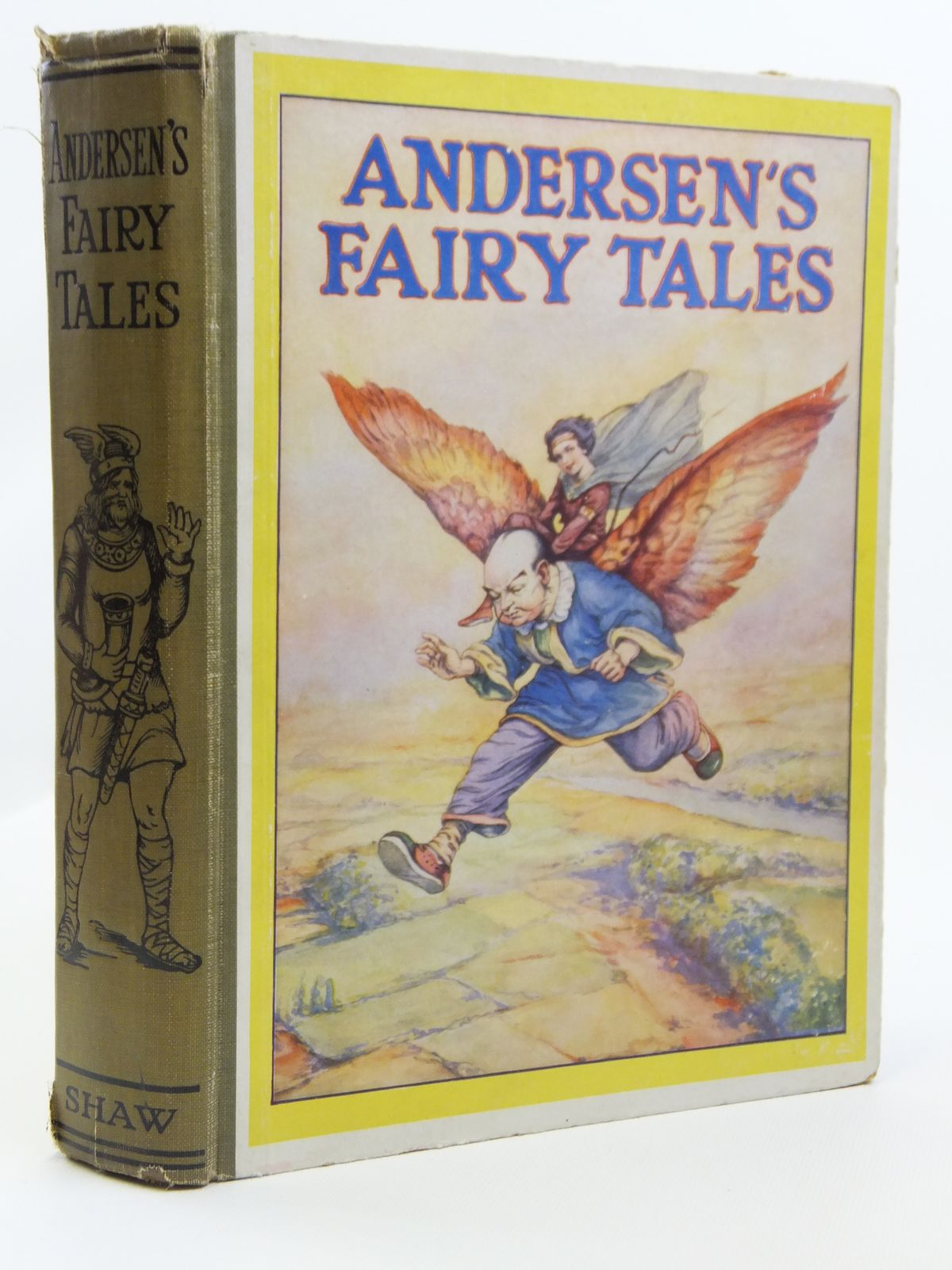 Photo of ANDERSEN'S FAIRY TALES written by Andersen, Hans Christian illustrated by Sherman, F.J. published by John F. Shaw & Co Ltd. (STOCK CODE: 2121236)  for sale by Stella & Rose's Books