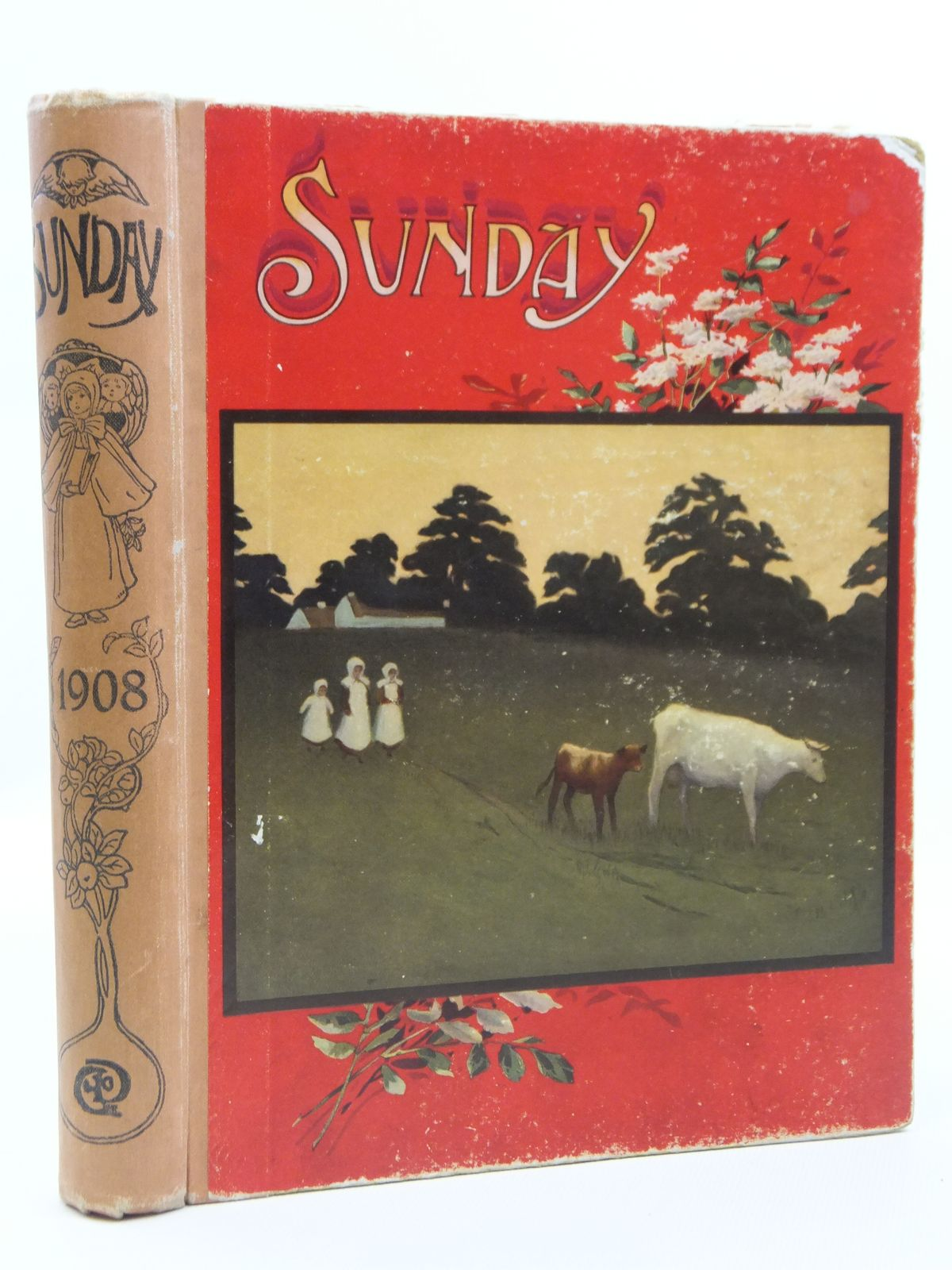 Photo of SUNDAY READING FOR THE YOUNG 1908 written by Whitham, G.I.<br />Parkes, A. Katharine<br />Scott-Hopper, Queenie<br />et al, illustrated by Bedford, F.D.<br />Brock, C.E.<br />Browne, Gordon<br />Miles, Helen<br />et al., published by Wells Gardner, Darton & Co. Ltd. (STOCK CODE: 2121245)  for sale by Stella & Rose's Books