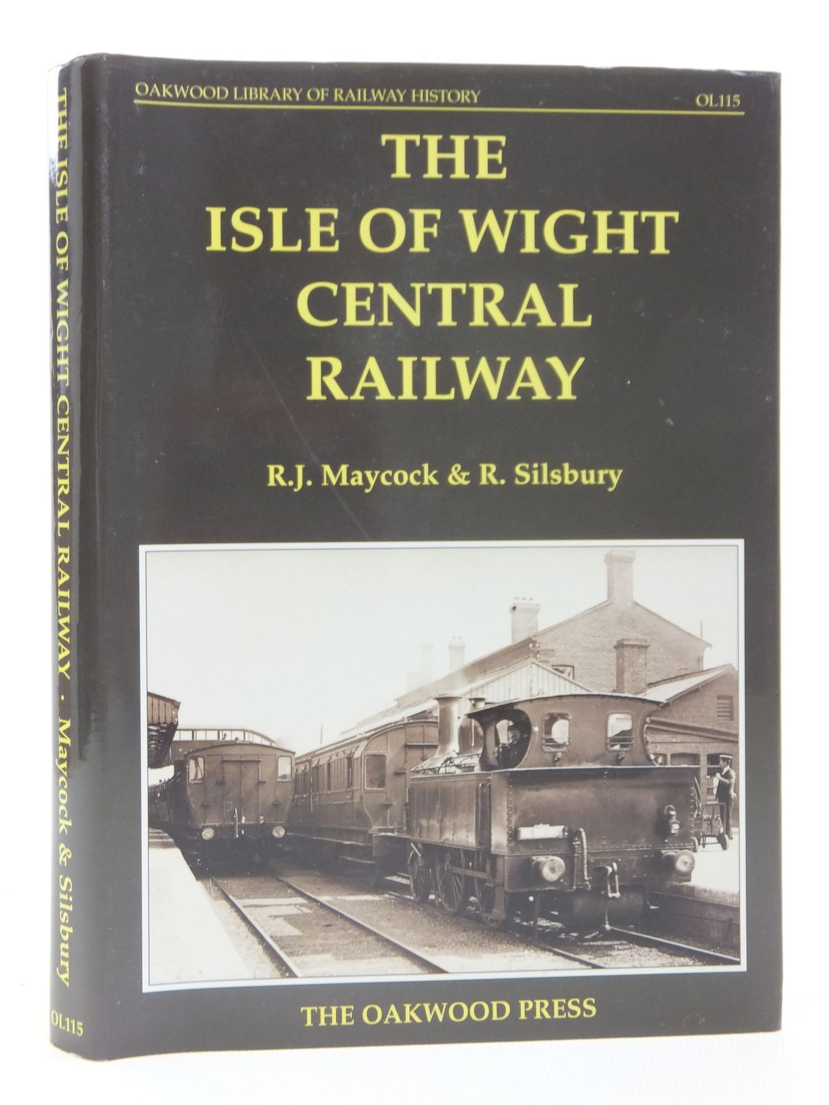 Photo of THE ISLE OF WIGHT CENTRAL RAILWAY written by Maycock, R.J.<br />Silsbury, R. published by The Oakwood Press (STOCK CODE: 2121290)  for sale by Stella & Rose's Books