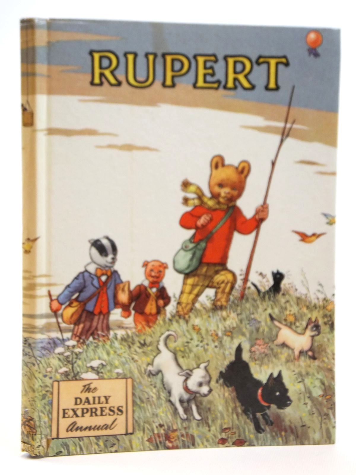 Photo of RUPERT ANNUAL 1955 written by Bestall, Alfred illustrated by Bestall, Alfred published by Daily Express (STOCK CODE: 2121412)  for sale by Stella & Rose's Books