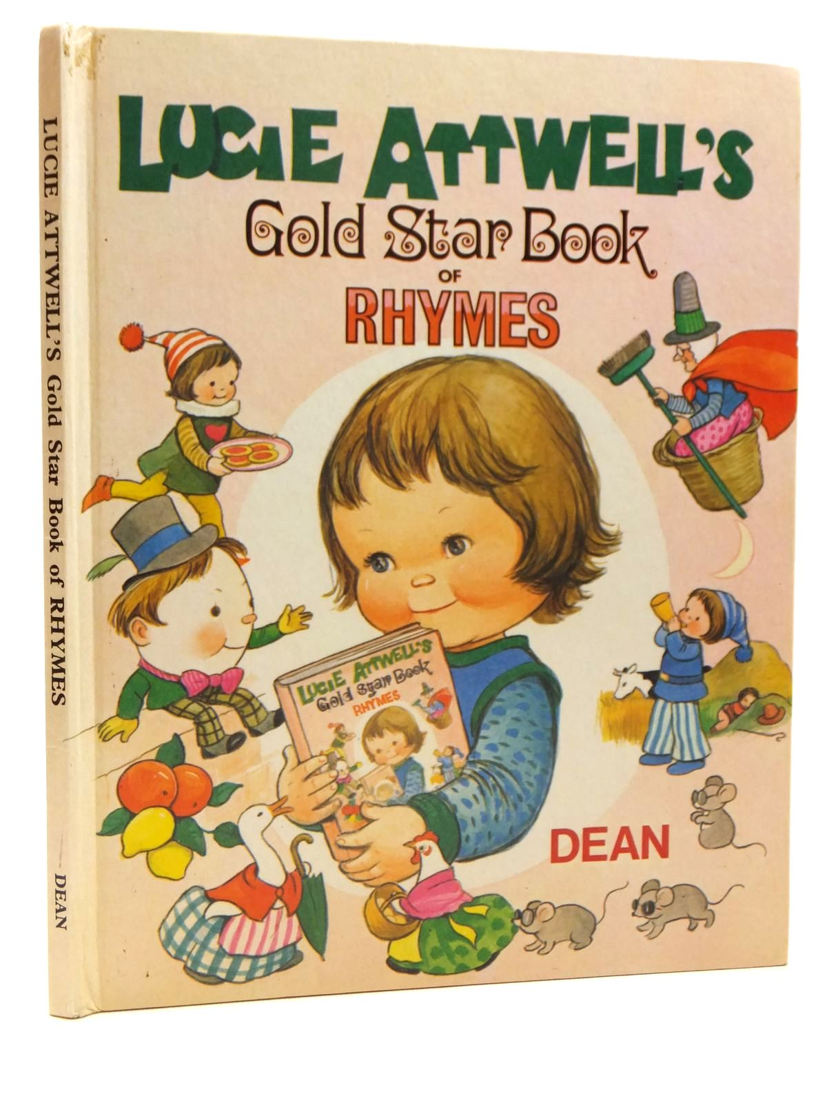 Photo of LUCIE ATTWELL'S GOLD STAR BOOK OF RHYMES illustrated by Attwell, Mabel Lucie published by Dean & Son Ltd. (STOCK CODE: 2121468)  for sale by Stella & Rose's Books