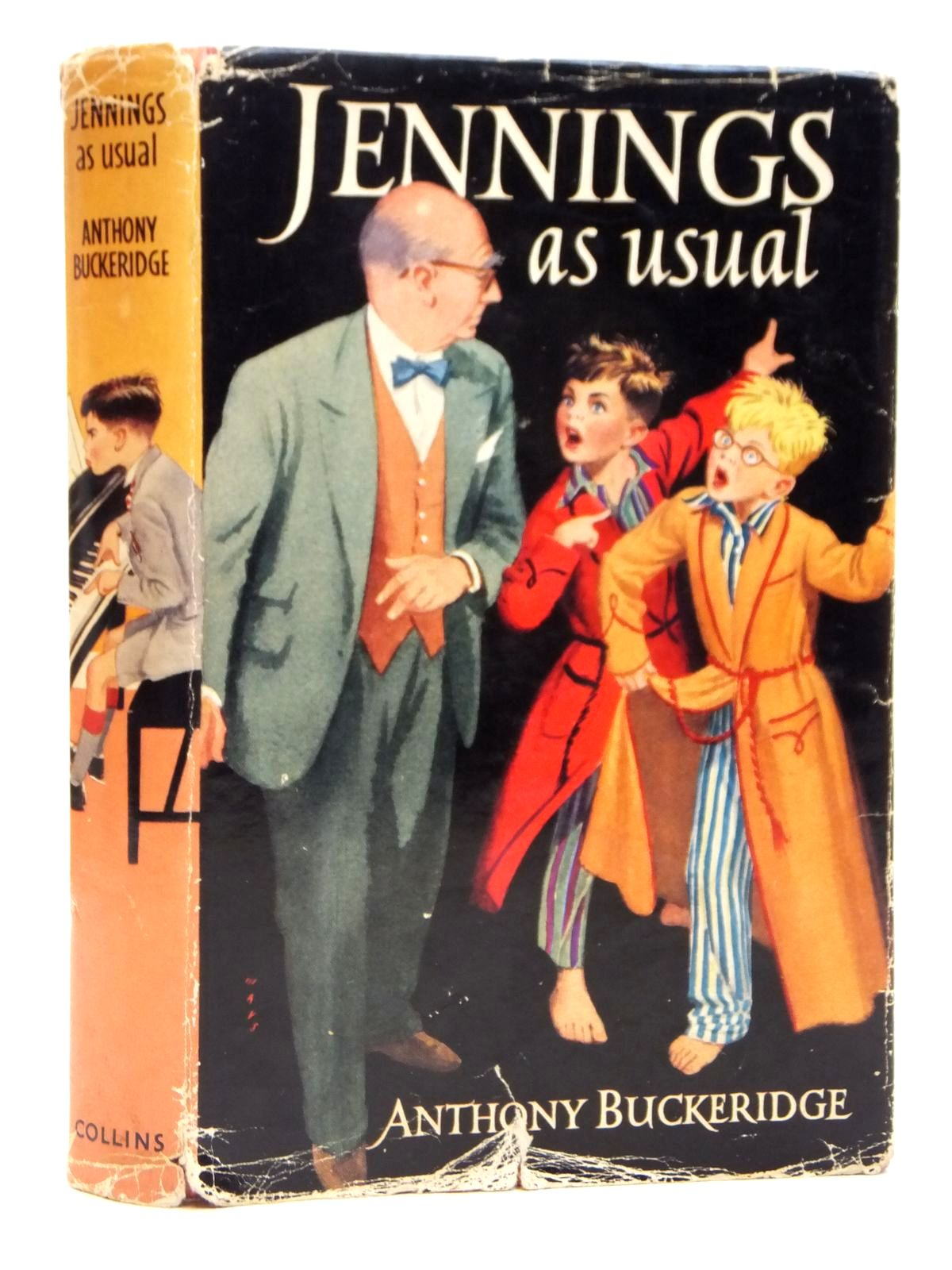 Photo of JENNINGS AS USUAL written by Buckeridge, Anthony illustrated by Mays,  published by Collins (STOCK CODE: 2121486)  for sale by Stella & Rose's Books