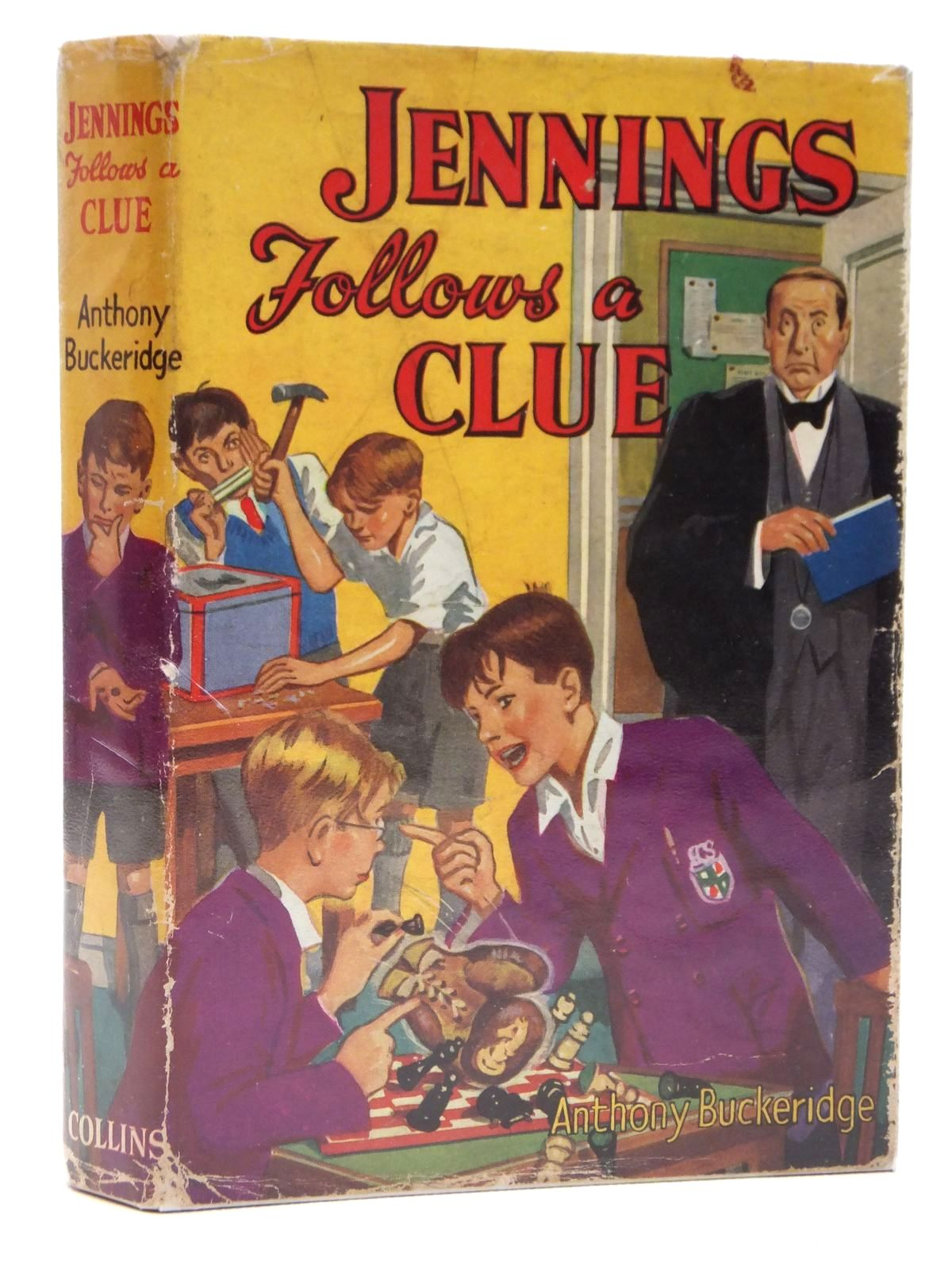 Photo of JENNINGS FOLLOWS A CLUE written by Buckeridge, Anthony published by Collins (STOCK CODE: 2121487)  for sale by Stella & Rose's Books