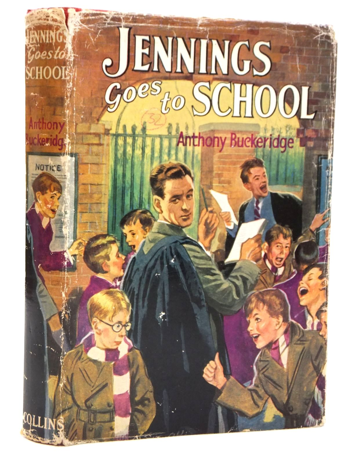Photo of JENNINGS GOES TO SCHOOL written by Buckeridge, Anthony published by Collins (STOCK CODE: 2121488)  for sale by Stella & Rose's Books
