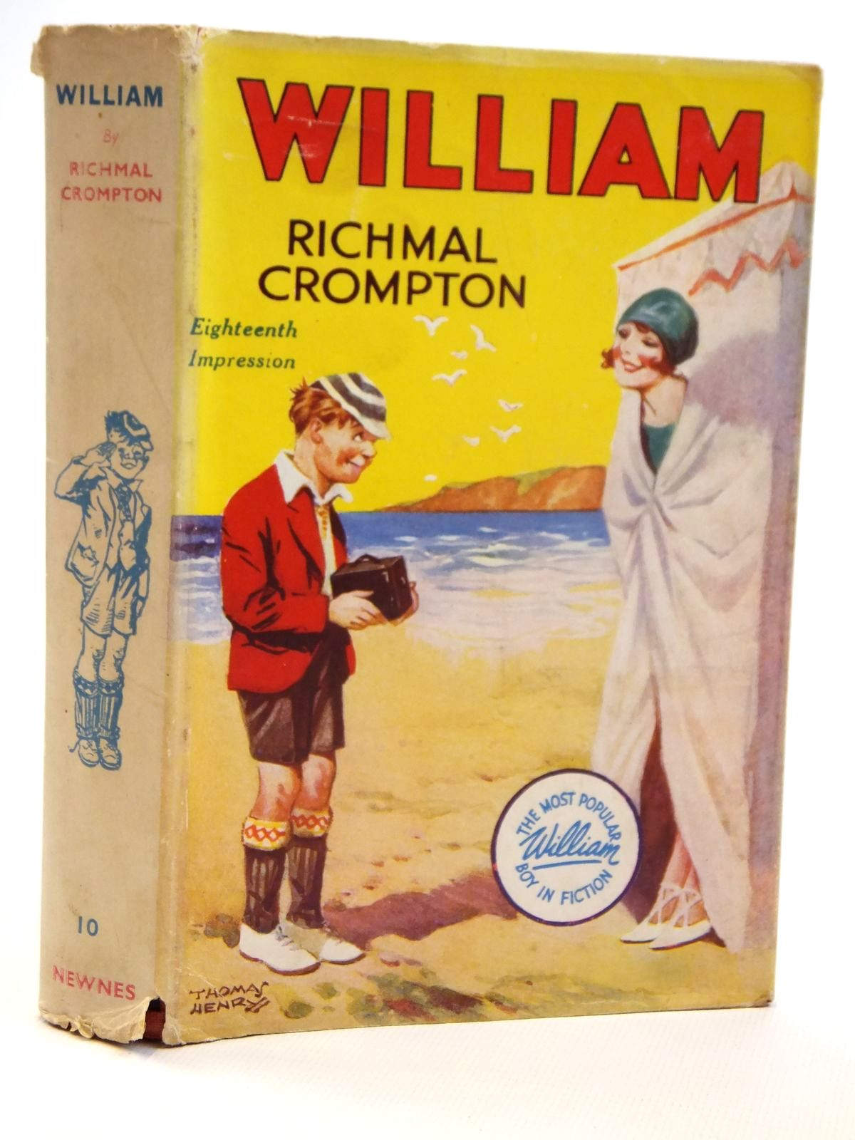 Photo of WILLIAM written by Crompton, Richmal illustrated by Henry, Thomas published by George Newnes Limited (STOCK CODE: 2121496)  for sale by Stella & Rose's Books