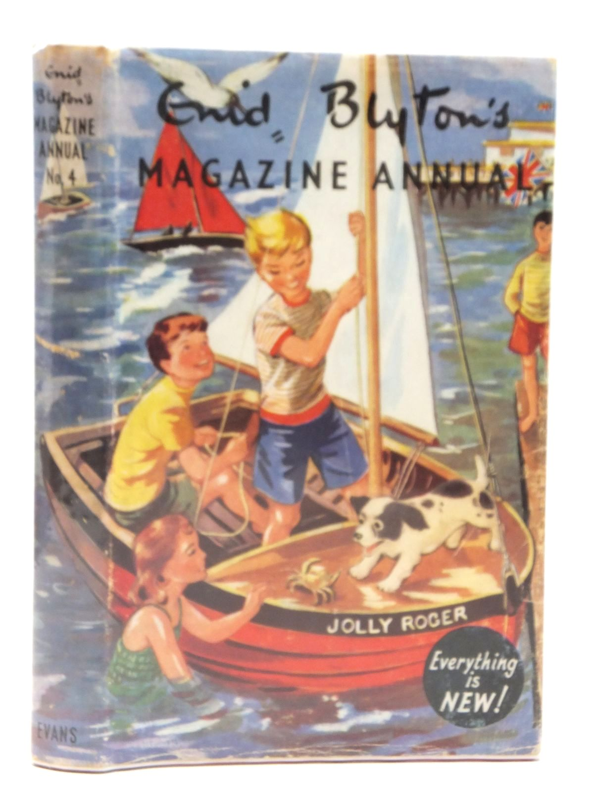 Photo of ENID BLYTON'S MAGAZINE ANNUAL No. 4 written by Blyton, Enid published by Evans Brothers Limited (STOCK CODE: 2121518)  for sale by Stella & Rose's Books
