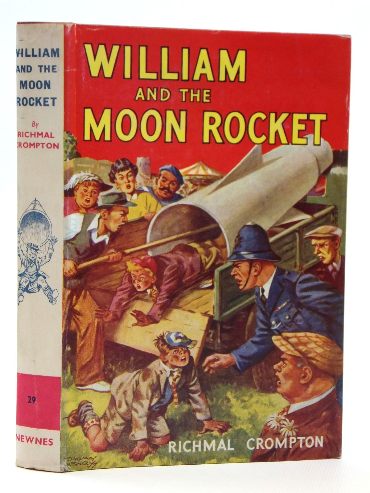 Photo of WILLIAM AND THE MOON ROCKET written by Crompton, Richmal illustrated by Henry, Thomas published by George Newnes Limited (STOCK CODE: 2121544)  for sale by Stella & Rose's Books