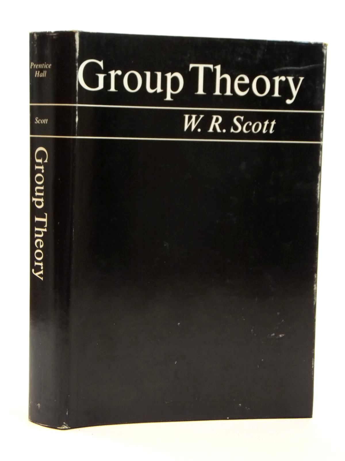 Photo of GROUP THEORY written by Scott, W.R. published by Prentice-Hall Inc. (STOCK CODE: 2121570)  for sale by Stella & Rose's Books