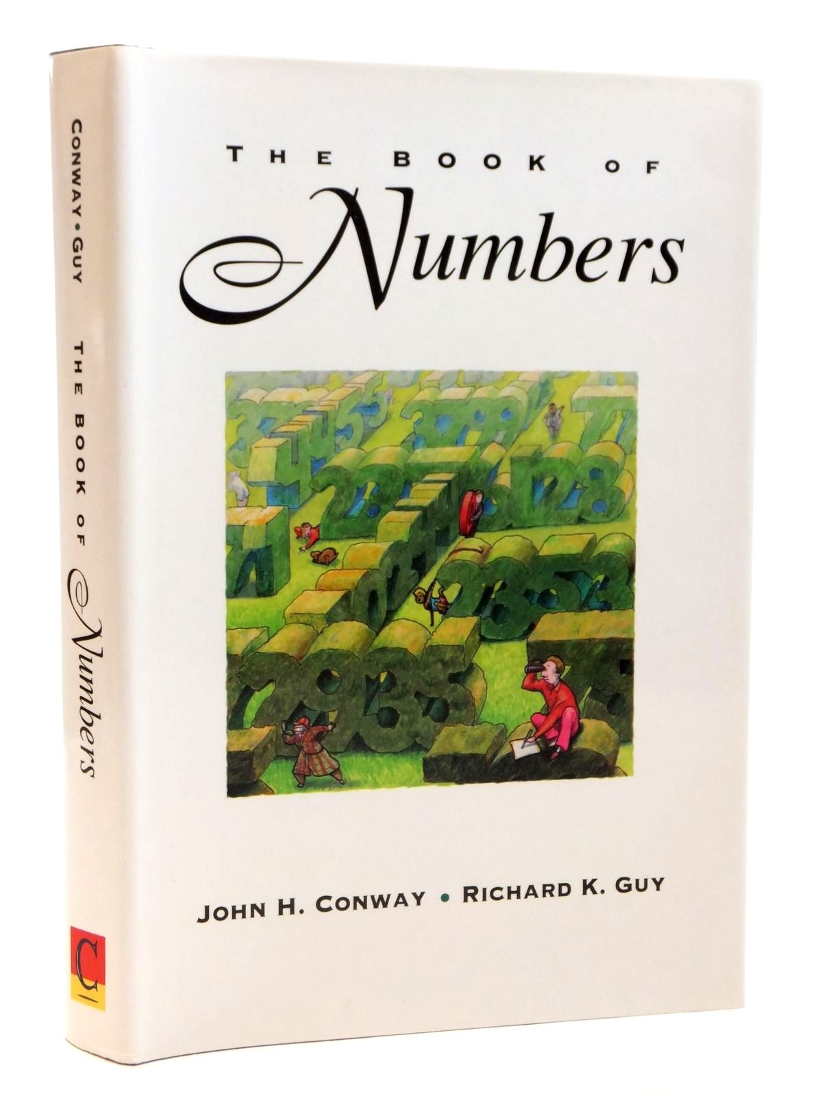 Photo of THE BOOK OF NUMBERS written by Conway, John H.<br />Guy, Richard K. published by Copernicus (STOCK CODE: 2121661)  for sale by Stella & Rose's Books