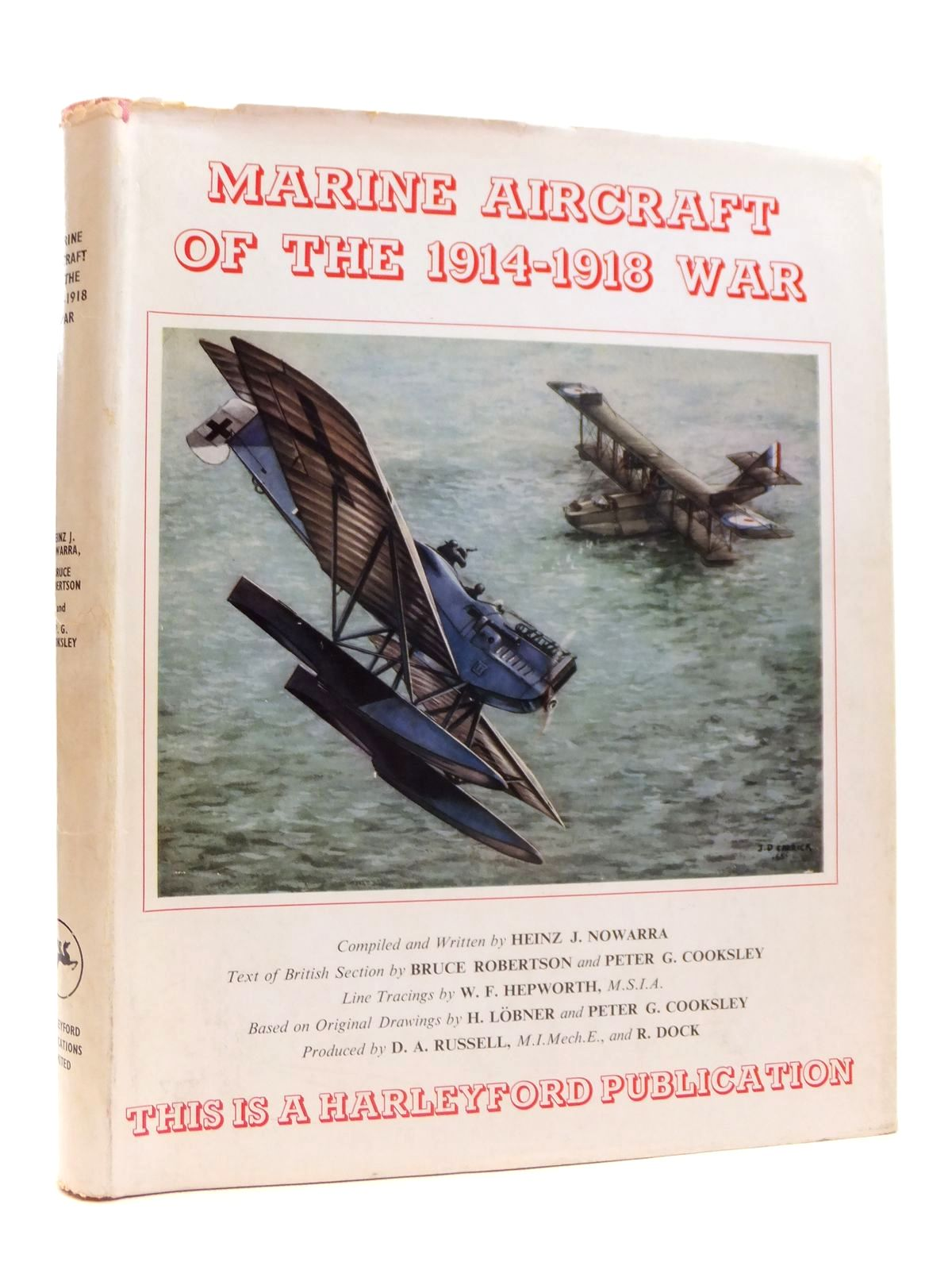 Photo of MARINE AIRCRAFT OF THE 1914-1918 WAR written by Nowarra, Heinz J.<br />Robertson, Bruce<br />Cooksley, Peter G. published by Harleyford Publications Limited (STOCK CODE: 2121723)  for sale by Stella & Rose's Books