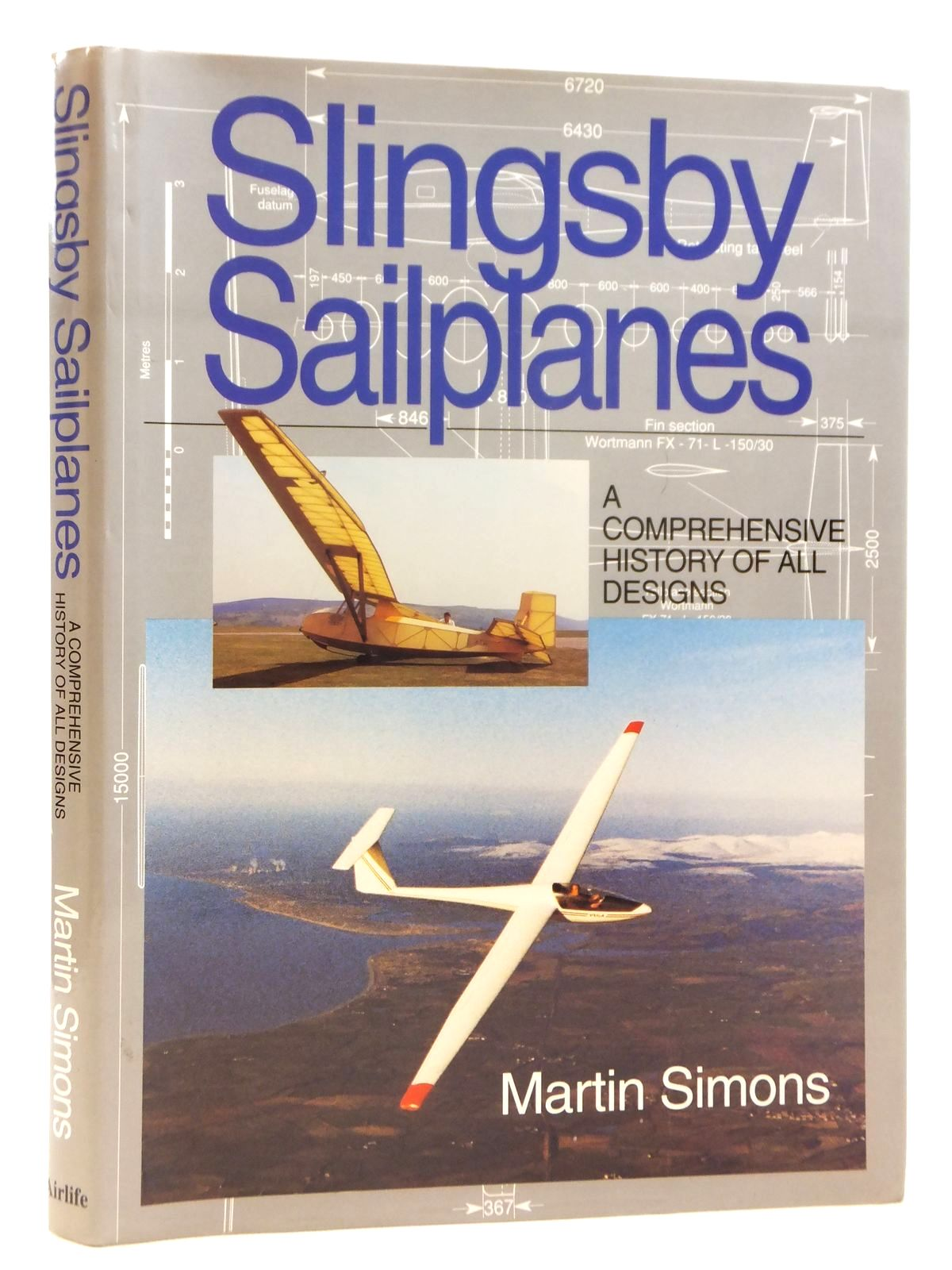 Photo of SLINGSBY SAILPLANES A COMPREHENSIVE HISTORY OF ALL DESIGNS written by Simons, Martin published by Airlife (STOCK CODE: 2121728)  for sale by Stella & Rose's Books