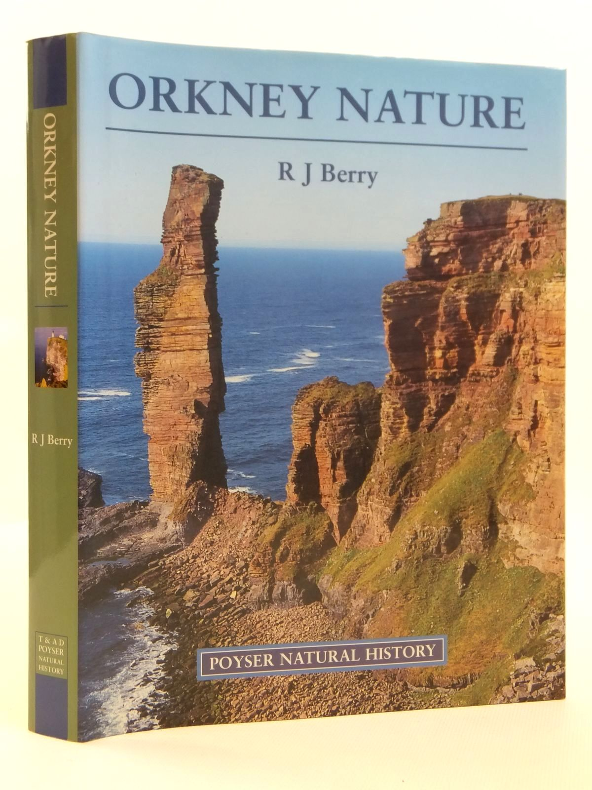 Photo of ORKNEY NATURE written by Berry, R.J. illustrated by Holloway, John published by T. & A.D. Poyser (STOCK CODE: 2121763)  for sale by Stella & Rose's Books