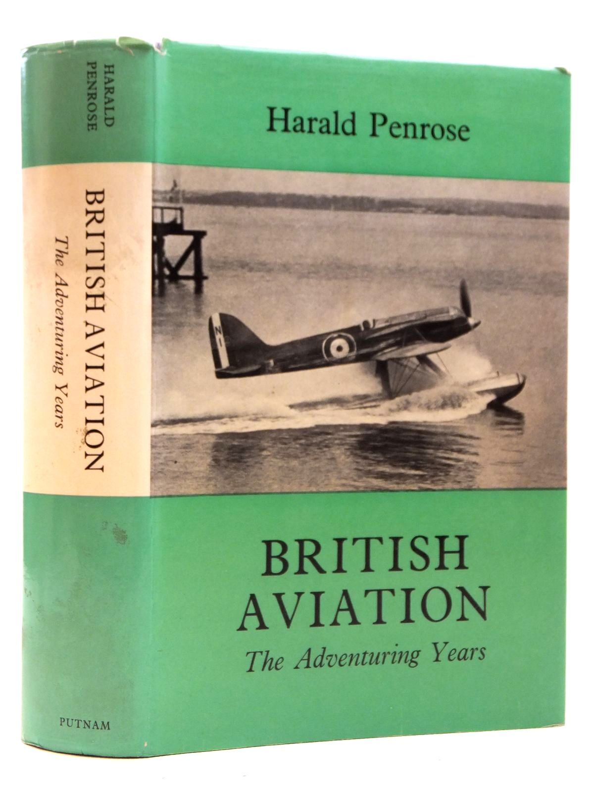 Photo of BRITISH AVIATION THE ADVENTURING YEARS 1920-1929 written by Penrose, Harald published by Putnam (STOCK CODE: 2121805)  for sale by Stella & Rose's Books
