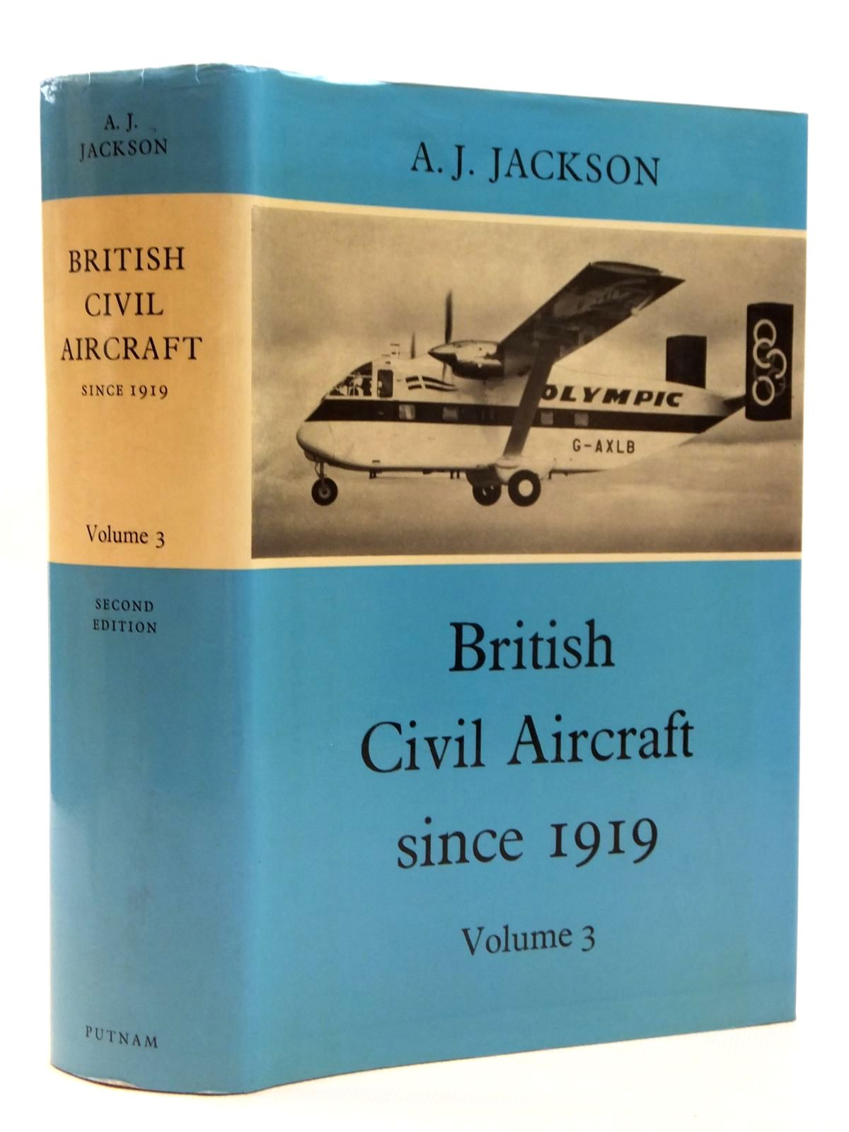 Photo of BRITISH CIVIL AIRCRAFT SINCE 1919 VOLUME THREE written by Jackson, A.J. published by Putnam (STOCK CODE: 2121808)  for sale by Stella & Rose's Books