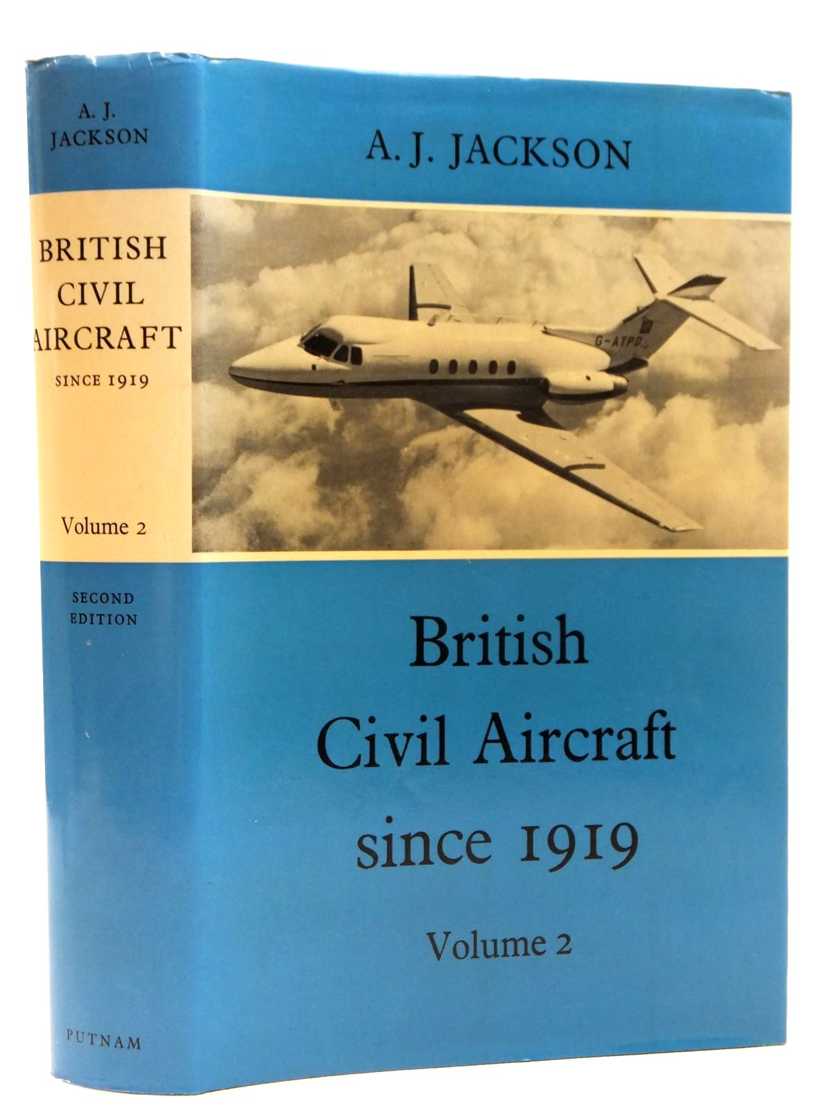 Photo of BRITISH CIVIL AIRCRAFT SINCE 1919 VOLUME TWO written by Jackson, A.J. published by Putnam (STOCK CODE: 2121811)  for sale by Stella & Rose's Books