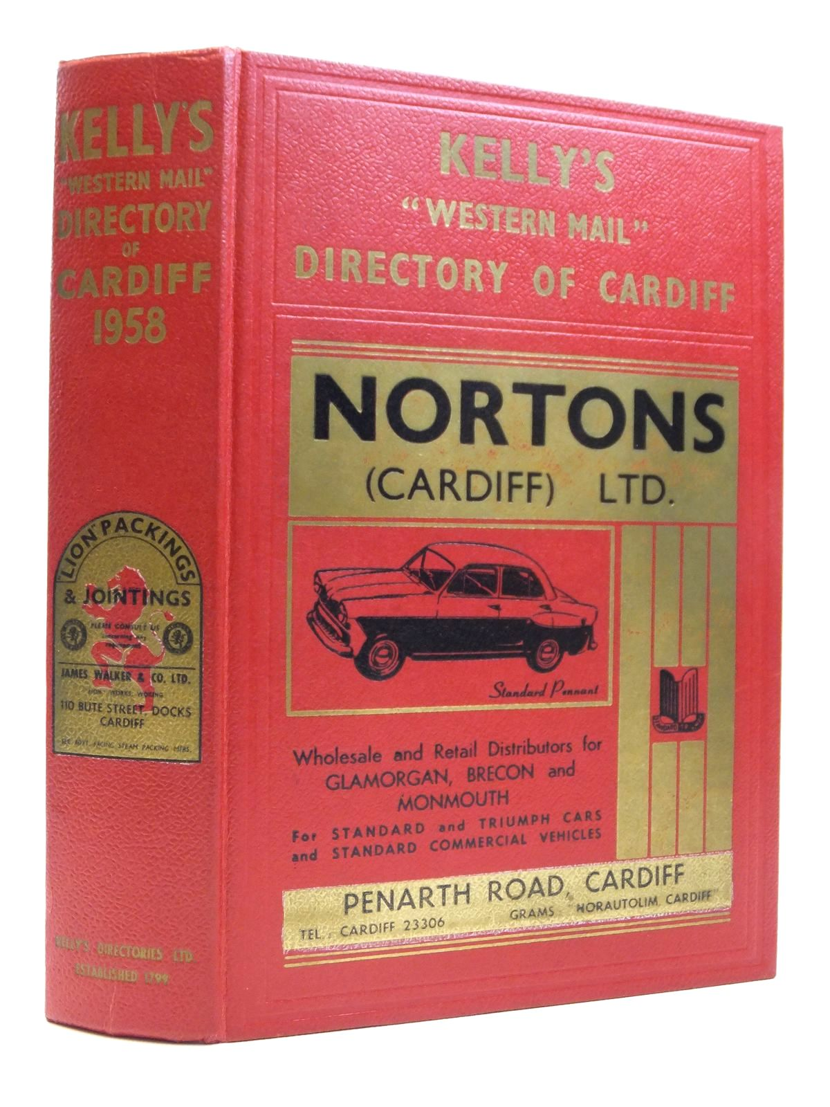 Photo of KELLYS WESTERN MAIL DIRECTORY OF CARDIFF 1958