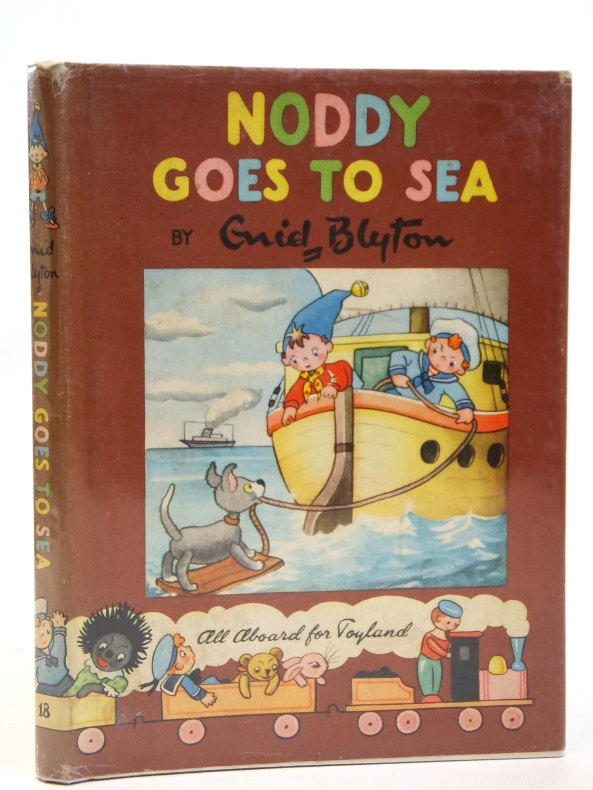 Photo of NODDY GOES TO SEA written by Blyton, Enid illustrated by Wienk, Peter published by Sampson Low, Marston & Co. Ltd., Dennis Dobson Ltd. (STOCK CODE: 2121889)  for sale by Stella & Rose's Books