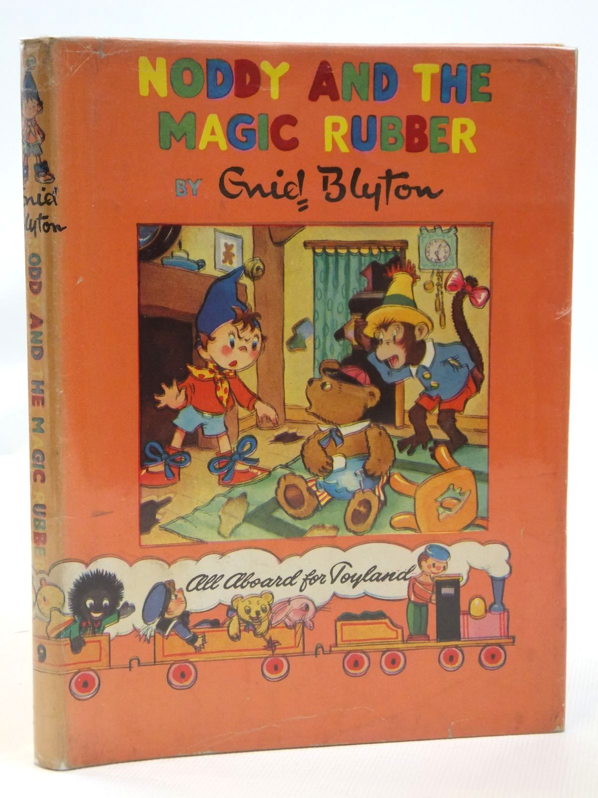 Photo of NODDY AND THE MAGIC RUBBER written by Blyton, Enid published by Sampson Low, Marston & Co. Ltd., Waynford Press Ltd. (STOCK CODE: 2121895)  for sale by Stella & Rose's Books