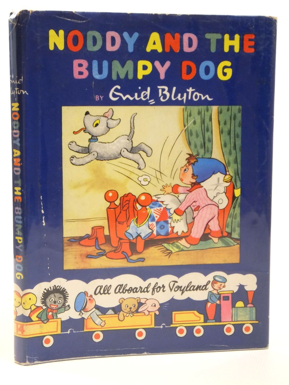 Photo of NODDY AND THE BUMPY DOG written by Blyton, Enid illustrated by Lee, Robert<br />Tyndall, Robert published by Sampson Low, Marston & Co. Ltd., Dennis Dobson Ltd. (STOCK CODE: 2121896)  for sale by Stella & Rose's Books