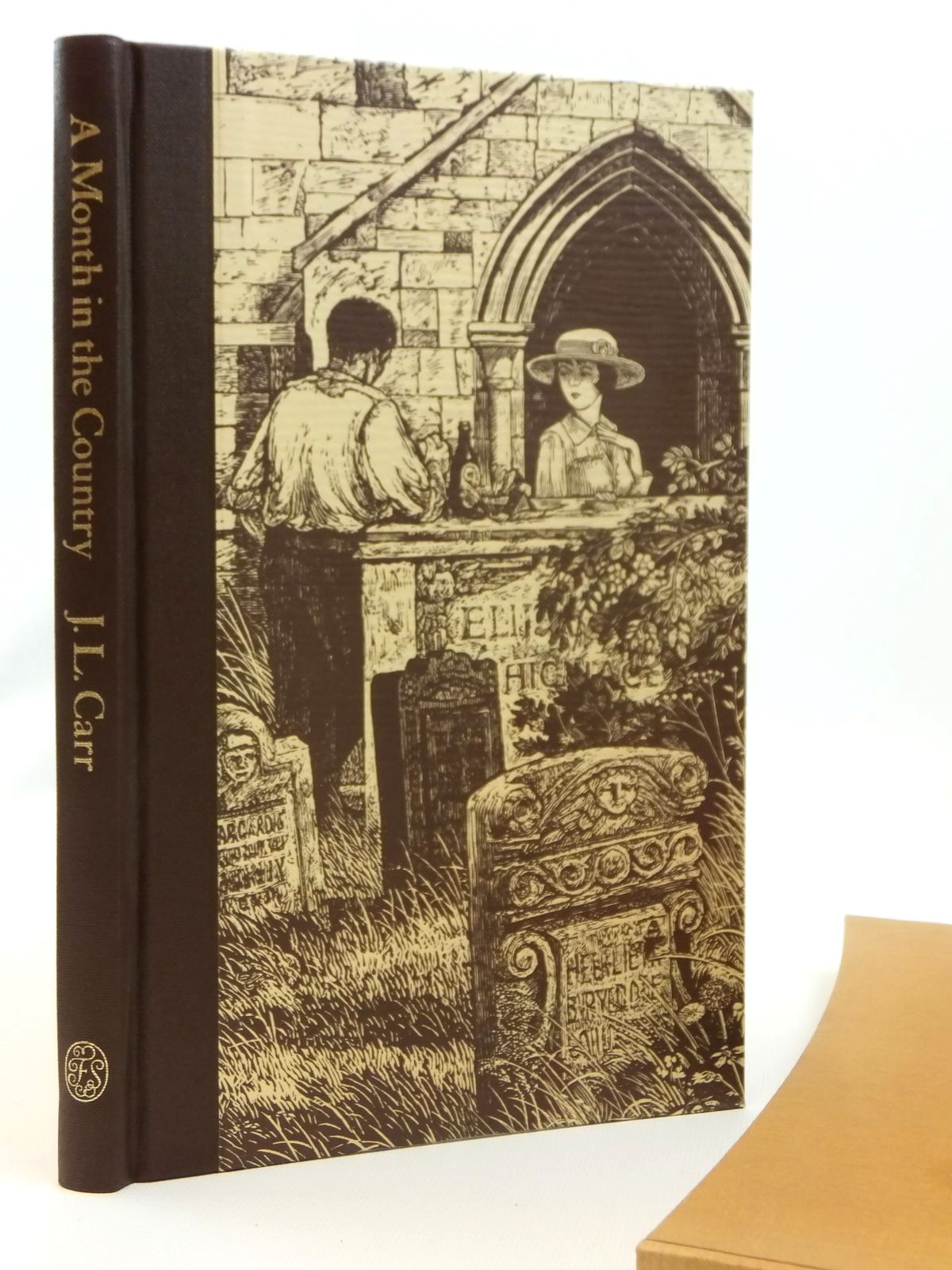 Photo of A MONTH IN THE COUNTRY written by Carr, J.L.<br />Blythe, Ronald illustrated by Stephens, Ian published by Folio Society (STOCK CODE: 2121910)  for sale by Stella & Rose's Books