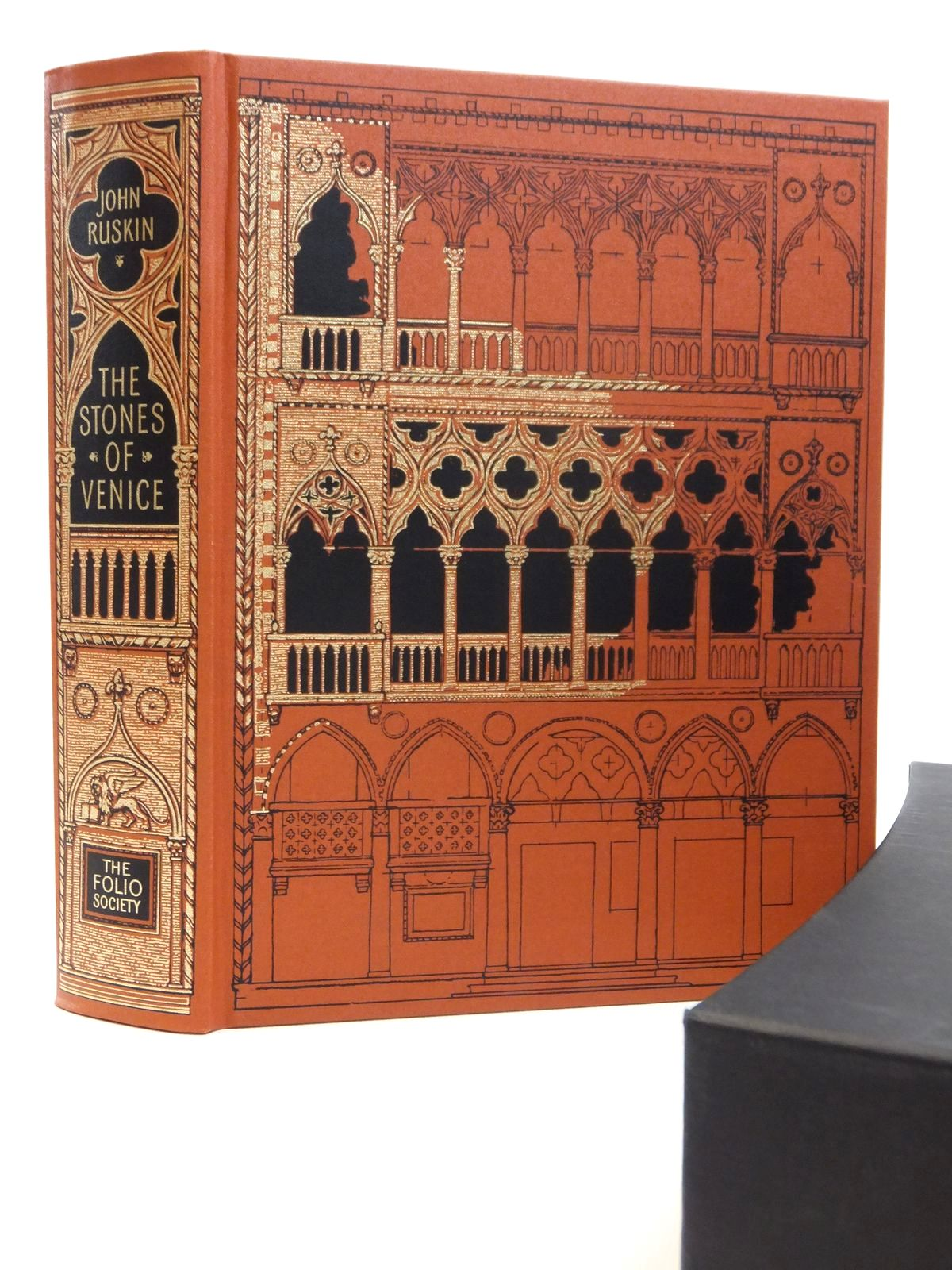 Photo of THE STONES OF VENICE written by Ruskin, John<br />Morris, Jan illustrated by Ruskin, John published by Folio Society (STOCK CODE: 2121920)  for sale by Stella & Rose's Books