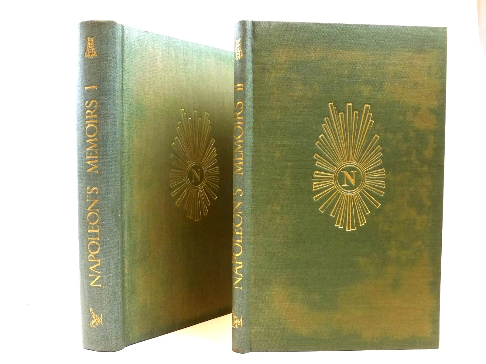 Photo of NAPOLEON'S MEMOIRS (2 VOLUMES) written by Bonaparte, Napoleon<br />De Chair, Somerset published by The Golden Cockerel Press (STOCK CODE: 2121946)  for sale by Stella & Rose's Books