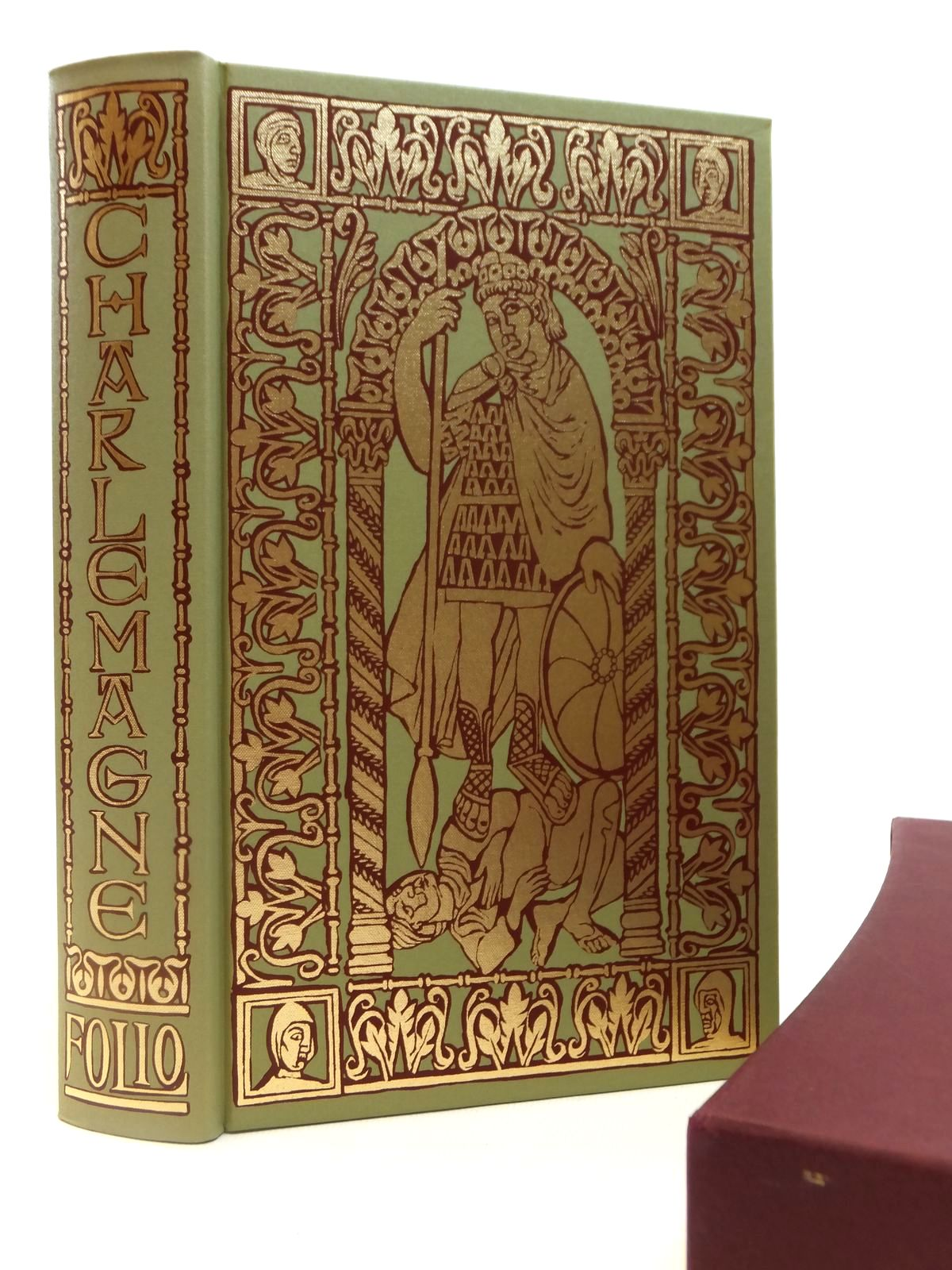 Photo of CHARLEMAGNE FATHER OF A CONTINENT written by Barbero, Alessandro<br />Cameron, Allan published by Folio Society (STOCK CODE: 2121979)  for sale by Stella & Rose's Books