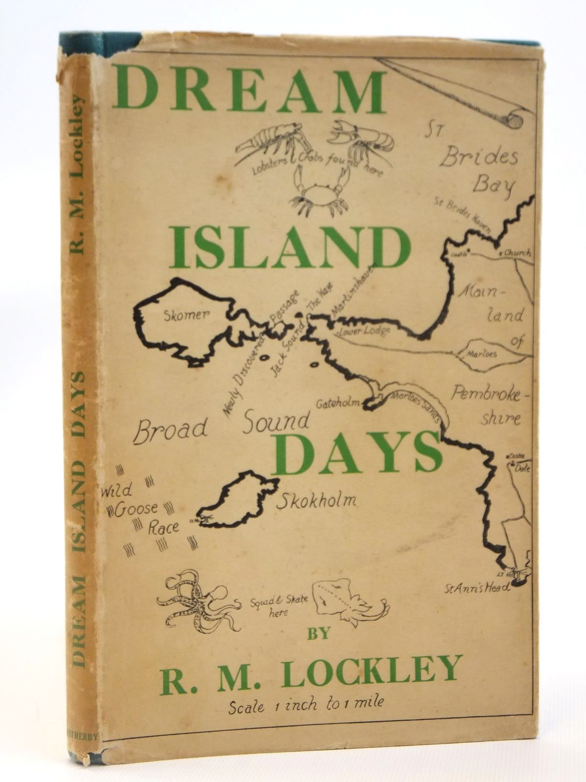 Photo of DREAM ISLAND DAYS written by Lockley, Ronald M. illustrated by Lockley, Doris published by H. F. & G. Witherby (STOCK CODE: 2122025)  for sale by Stella & Rose's Books