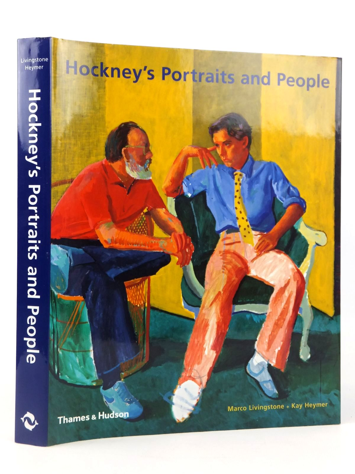 Photo of HOCKNEY'S PORTRAITS AND PEOPLE written by Livingstone, Marco<br />Heymer, Kay illustrated by Hockney, David published by Thames and Hudson (STOCK CODE: 2122111)  for sale by Stella & Rose's Books