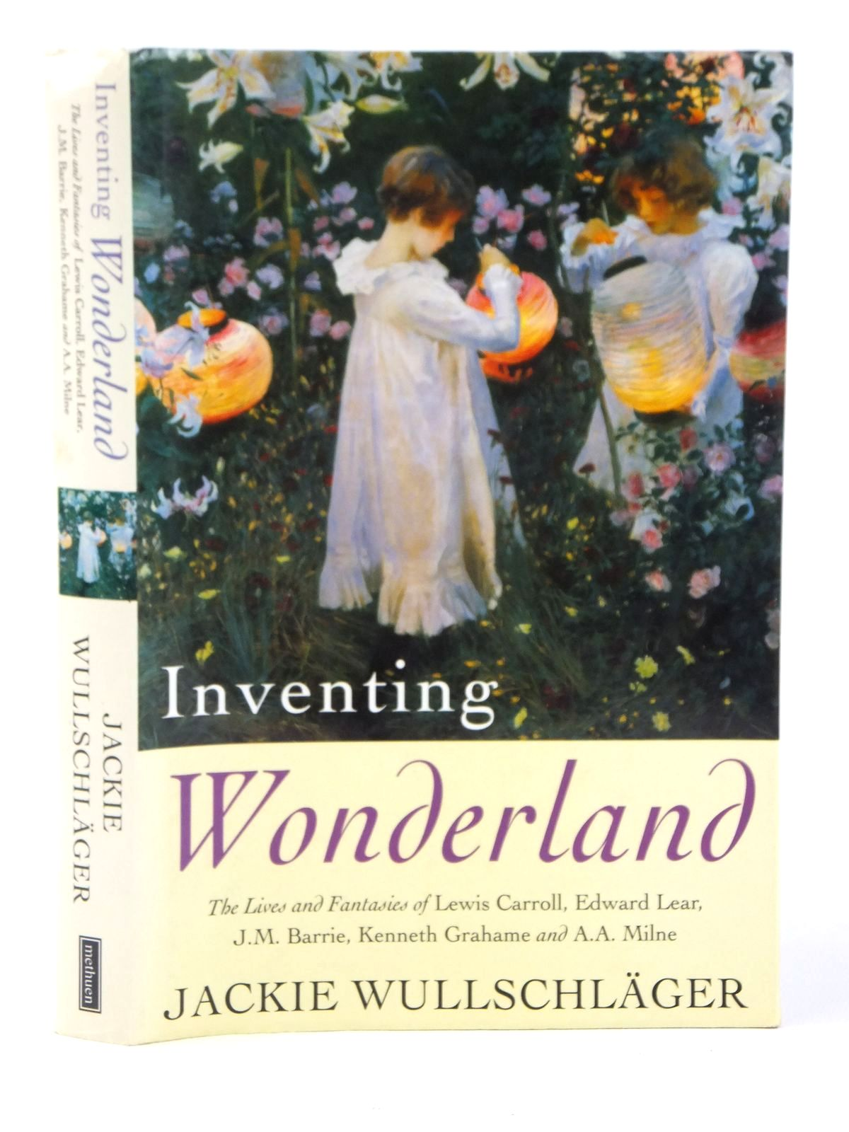 Photo of INVENTING WONDERLAND written by Wullschlager, Jackie published by Methuen (STOCK CODE: 2122137)  for sale by Stella & Rose's Books
