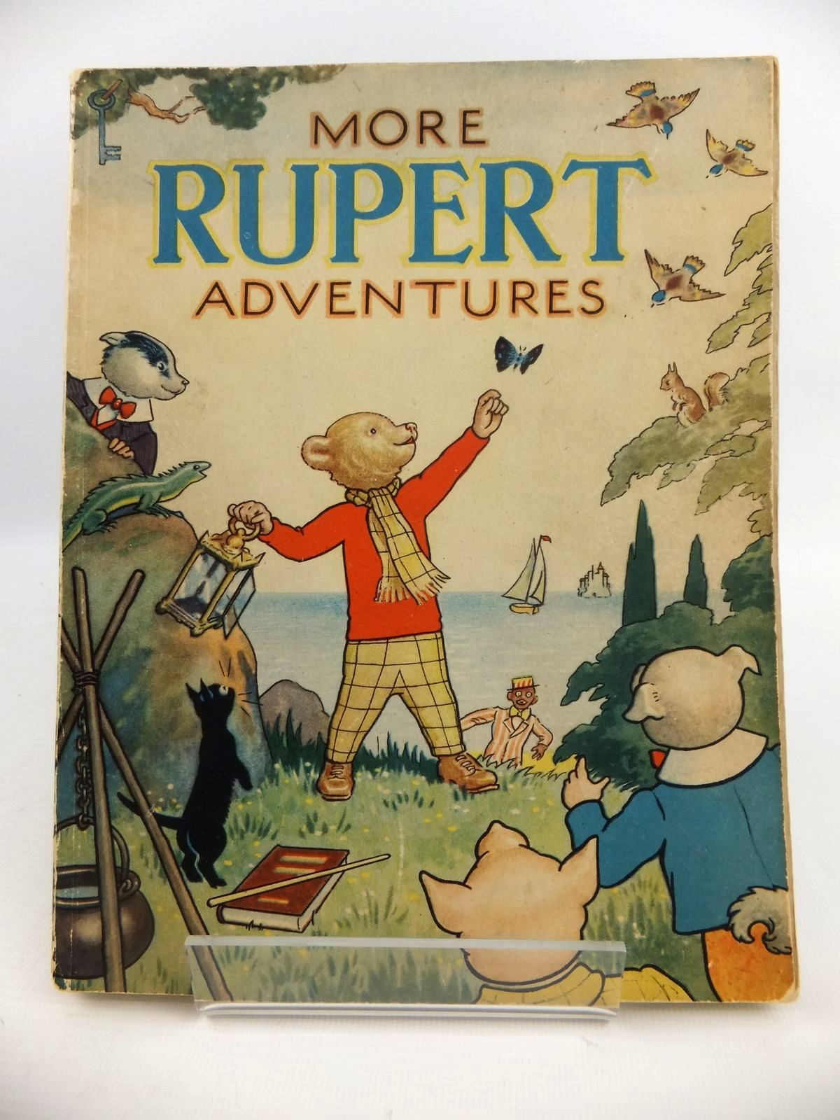 Photo of RUPERT ANNUAL 1943 - MORE RUPERT ADVENTURES written by Bestall, Alfred illustrated by Bestall, Alfred published by Daily Express (STOCK CODE: 2122140)  for sale by Stella & Rose's Books