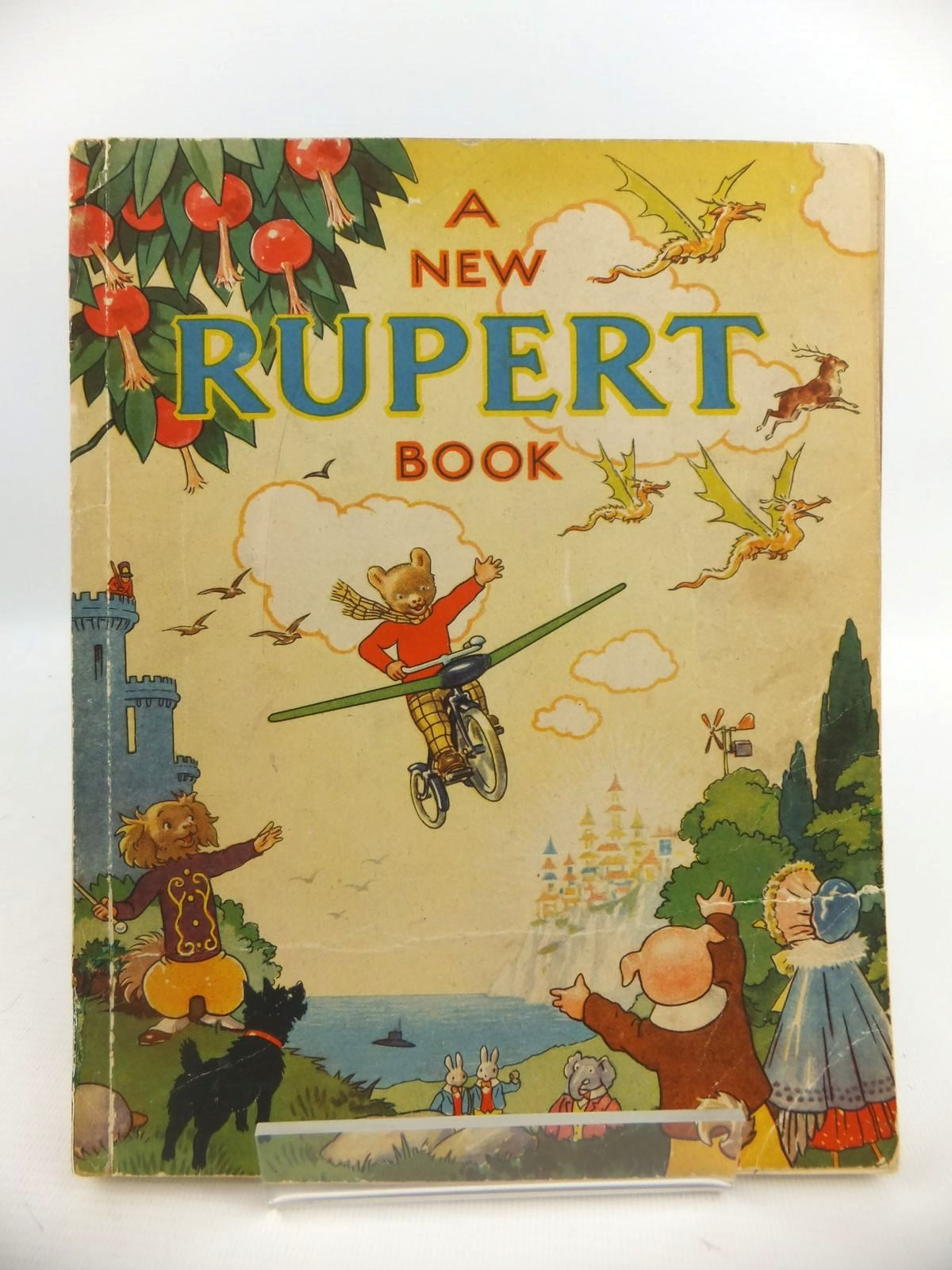 Photo of RUPERT ANNUAL 1945 - A NEW RUPERT BOOK written by Bestall, Alfred illustrated by Bestall, Alfred published by Daily Express (STOCK CODE: 2122141)  for sale by Stella & Rose's Books