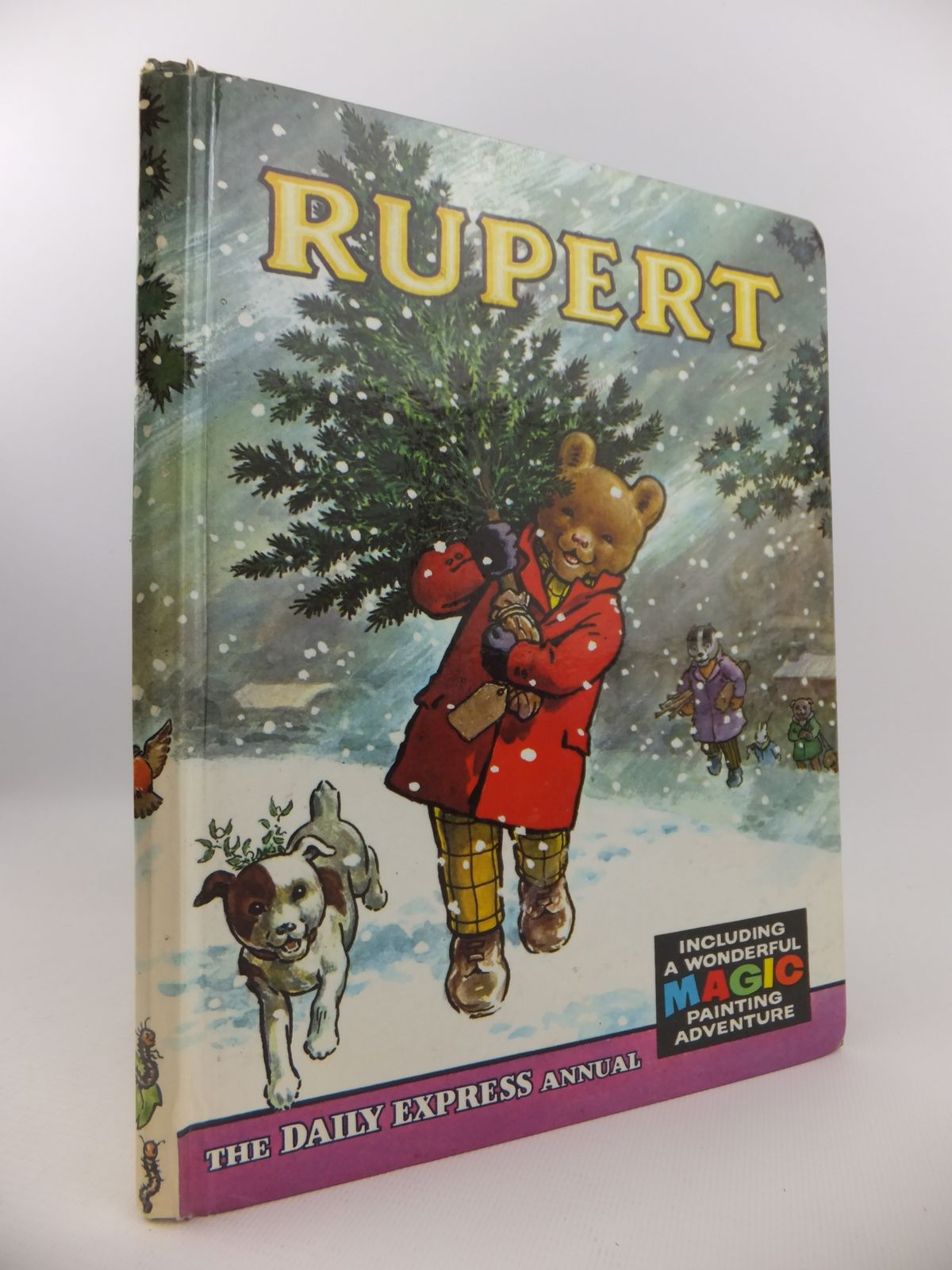Photo of RUPERT ANNUAL 1965 written by Bestall, Alfred illustrated by Bestall, Alfred published by Daily Express (STOCK CODE: 2122151)  for sale by Stella & Rose's Books