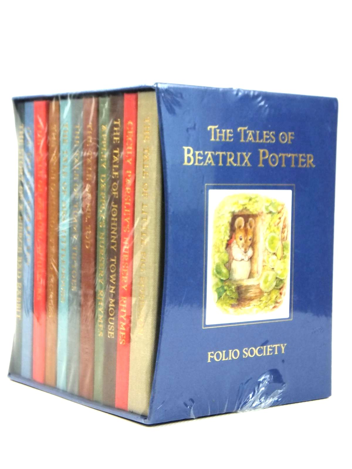 Photo of THE TALES OF BEATRIX POTTER written by Potter, Beatrix illustrated by Potter, Beatrix published by Folio Society (STOCK CODE: 2122155)  for sale by Stella & Rose's Books