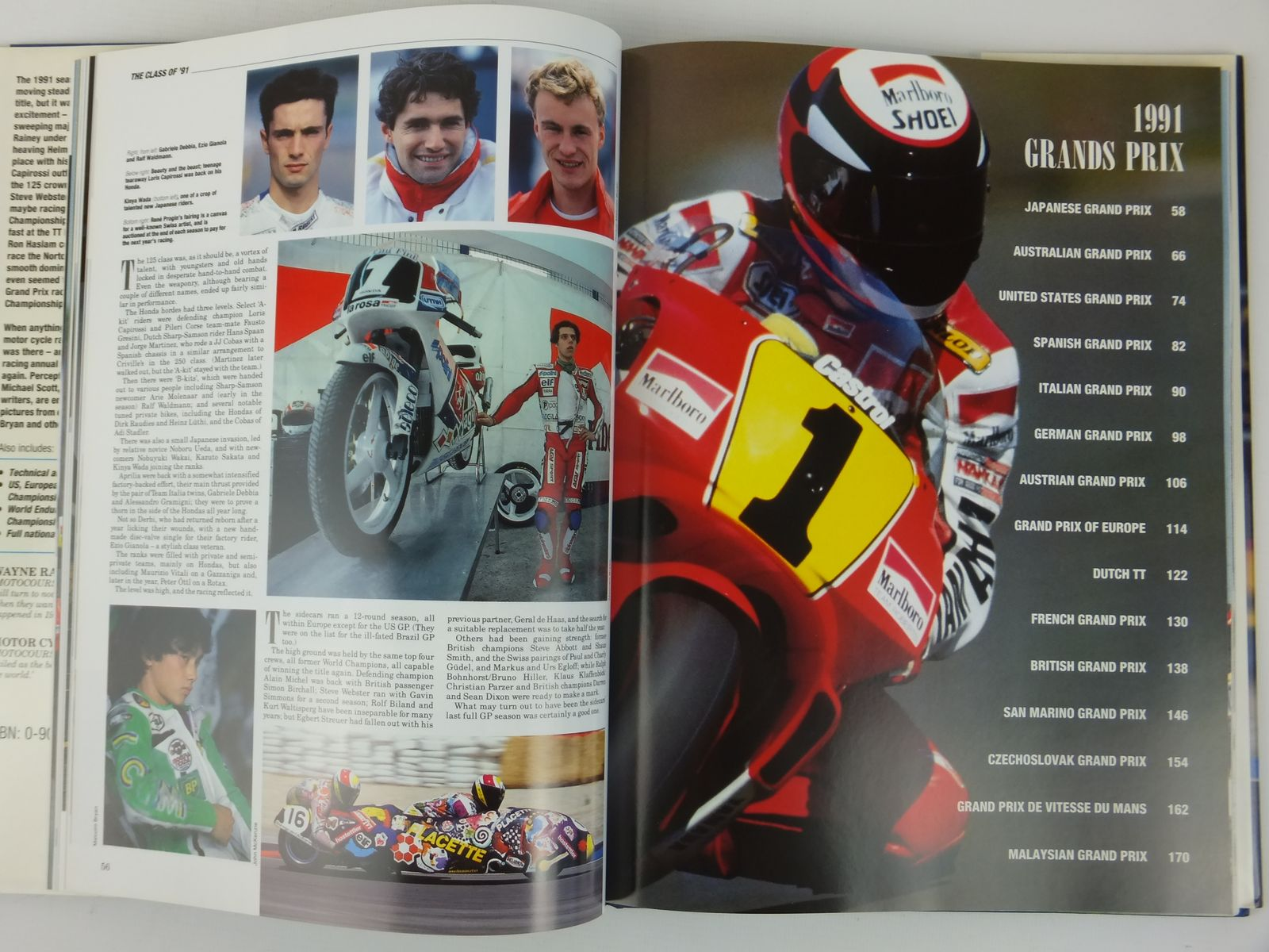 Photo of MOTOCOURSE 1991-92 published by Hazleton Publishing (STOCK CODE: 2122181)  for sale by Stella & Rose's Books