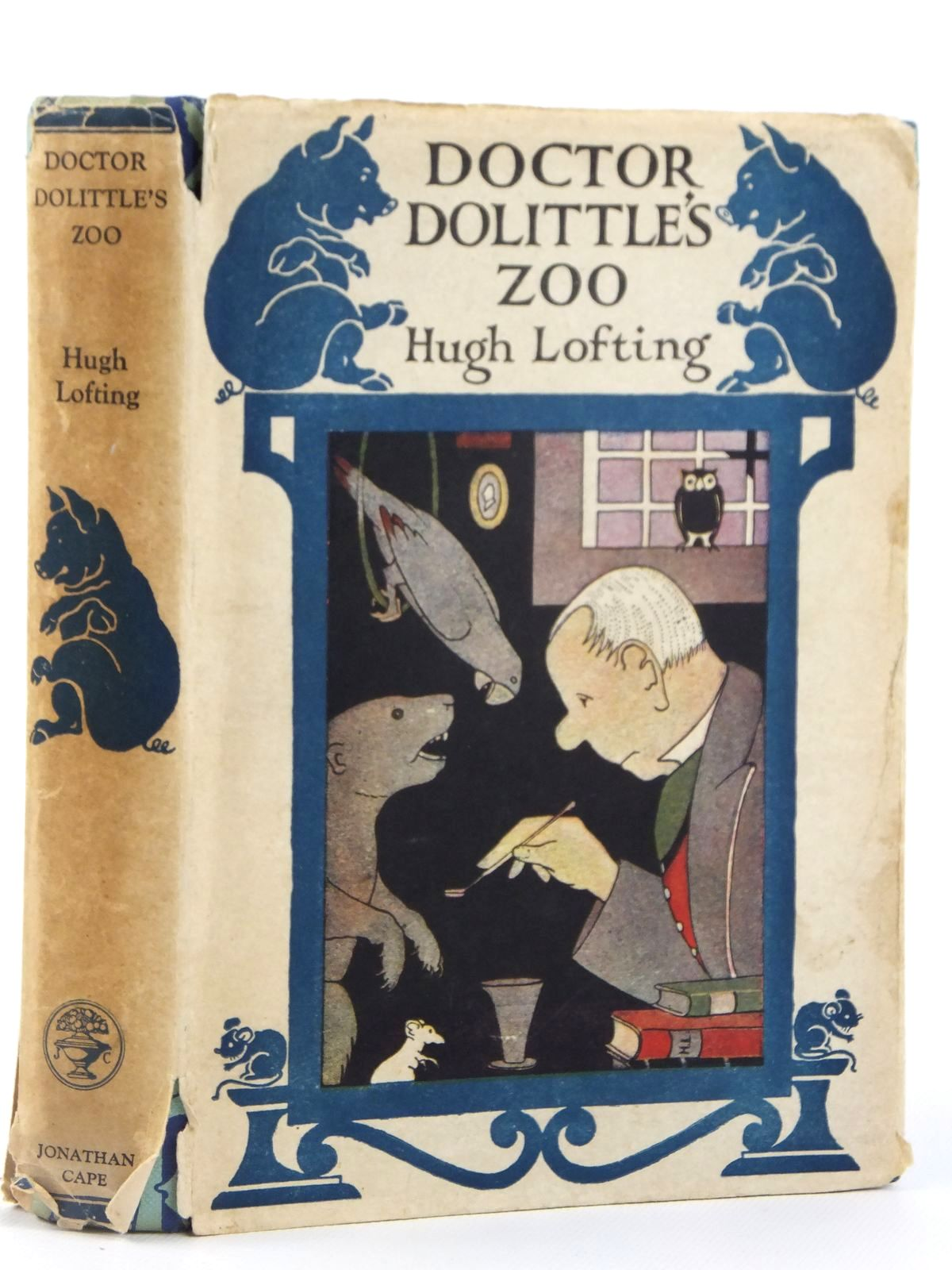 Photo of DOCTOR DOLITTLE'S ZOO written by Lofting, Hugh illustrated by Lofting, Hugh published by Jonathan Cape (STOCK CODE: 2122187)  for sale by Stella & Rose's Books