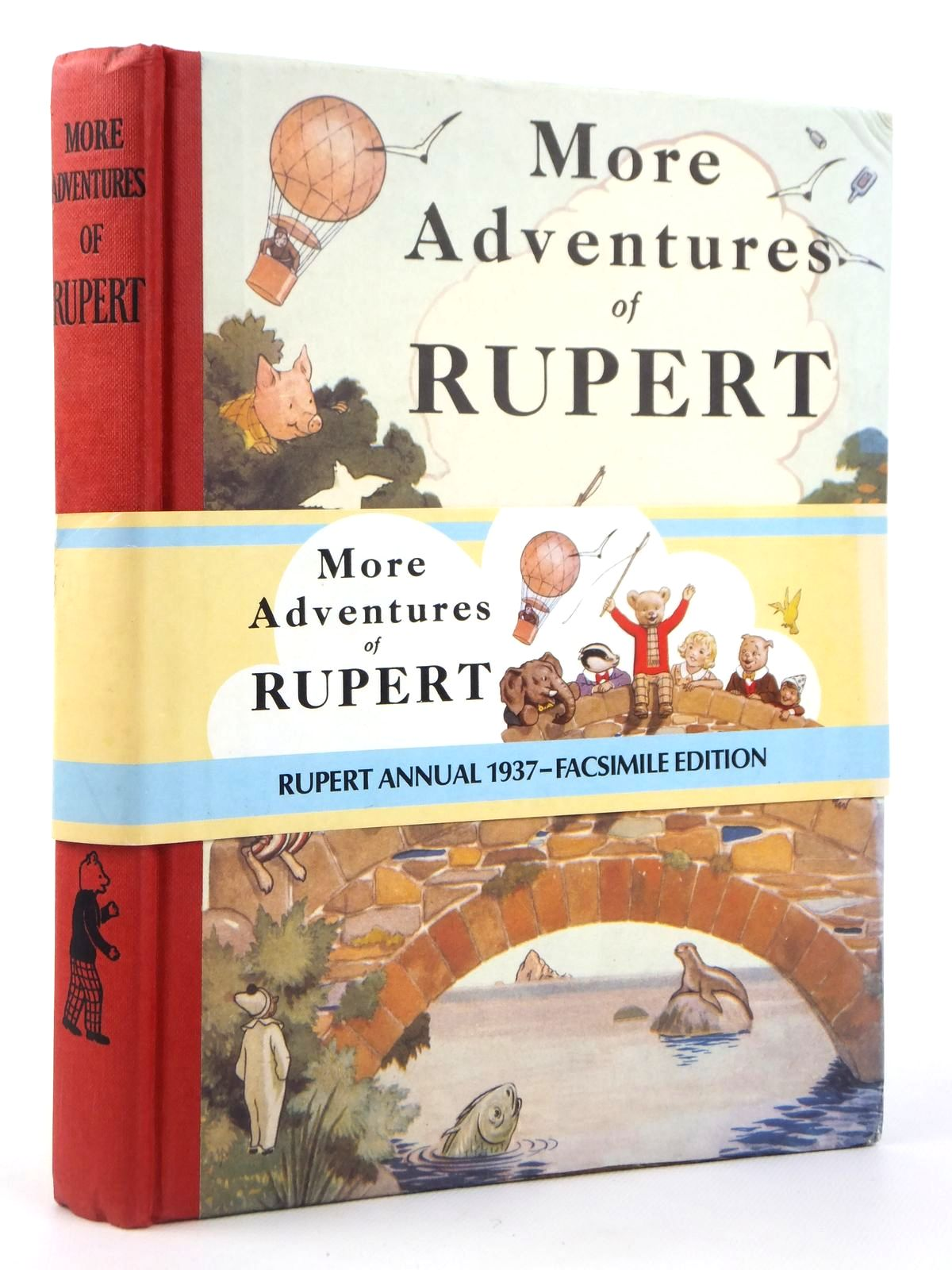 Photo of RUPERT ANNUAL 1937 (FACSIMILE) - MORE ADVENTURES OF RUPERT written by Bestall, Alfred illustrated by Bestall, Alfred published by Express Newspapers Ltd. (STOCK CODE: 2122195)  for sale by Stella & Rose's Books