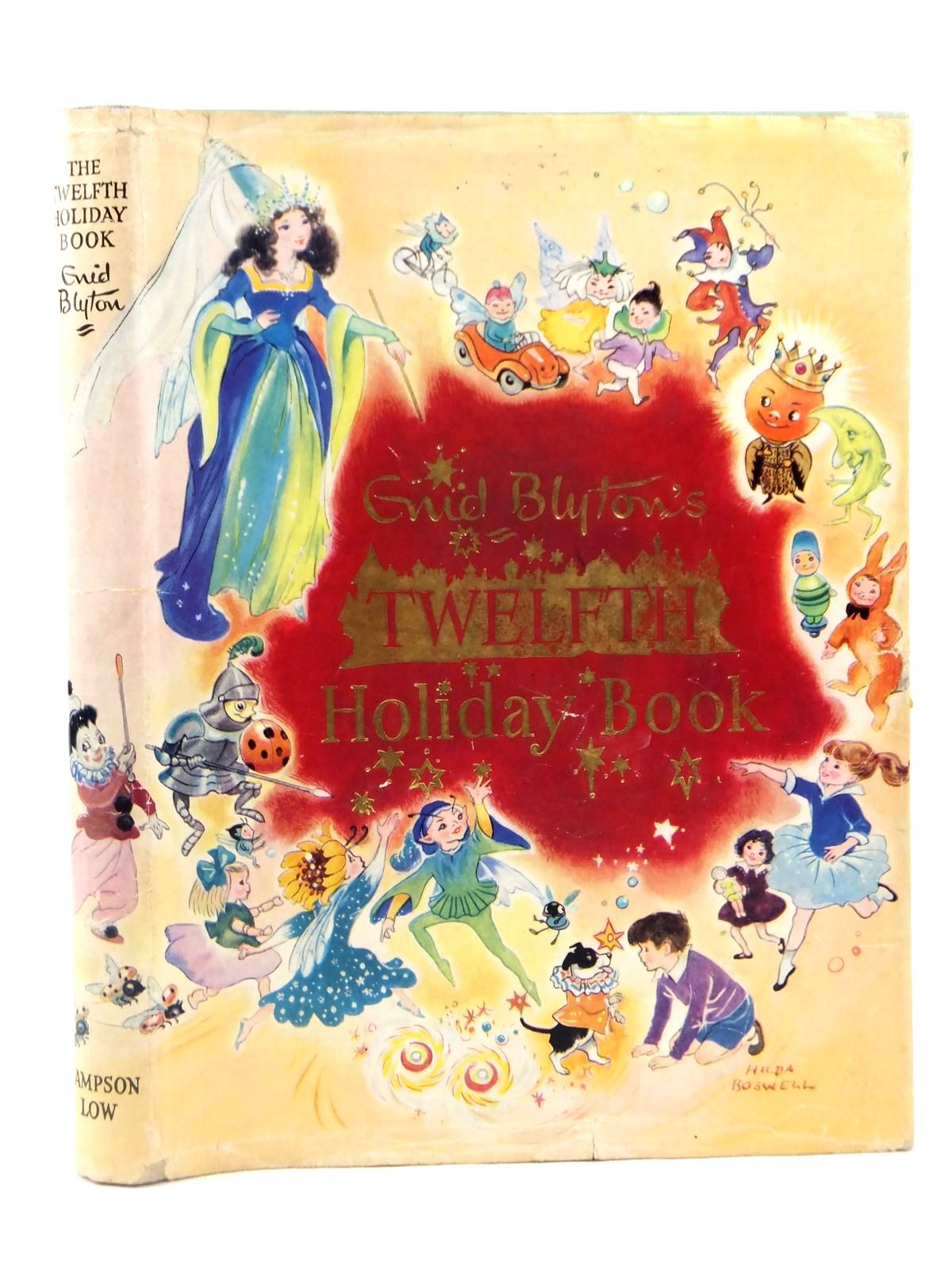 Photo of THE TWELFTH HOLIDAY BOOK written by Blyton, Enid illustrated by Weink, <br />Lodge, Grace<br />Perrin, Yvonne<br />et al.,  published by Sampson Low, Marston & Co. Ltd. (STOCK CODE: 2122205)  for sale by Stella & Rose's Books