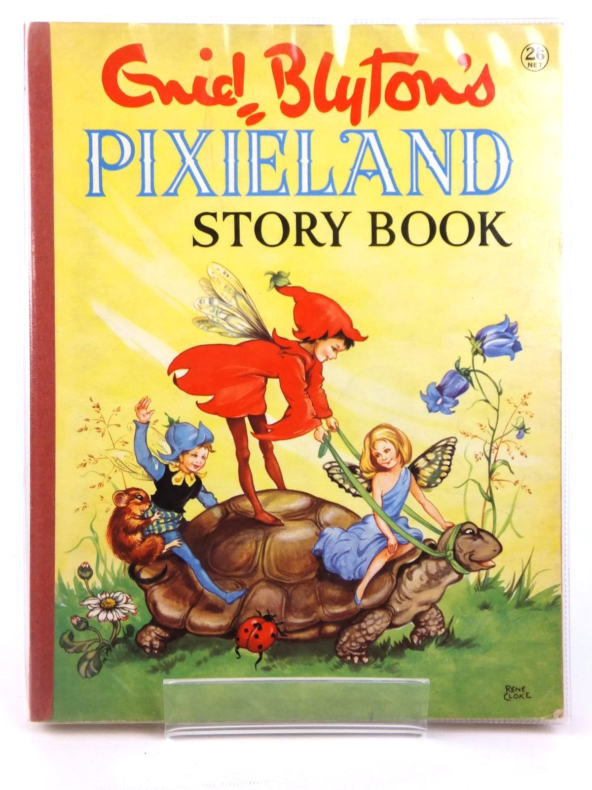 Photo of ENID BLYTON'S PIXIELAND STORY BOOK written by Blyton, Enid illustrated by Cloke, Rene published by Collins (STOCK CODE: 2122208)  for sale by Stella & Rose's Books