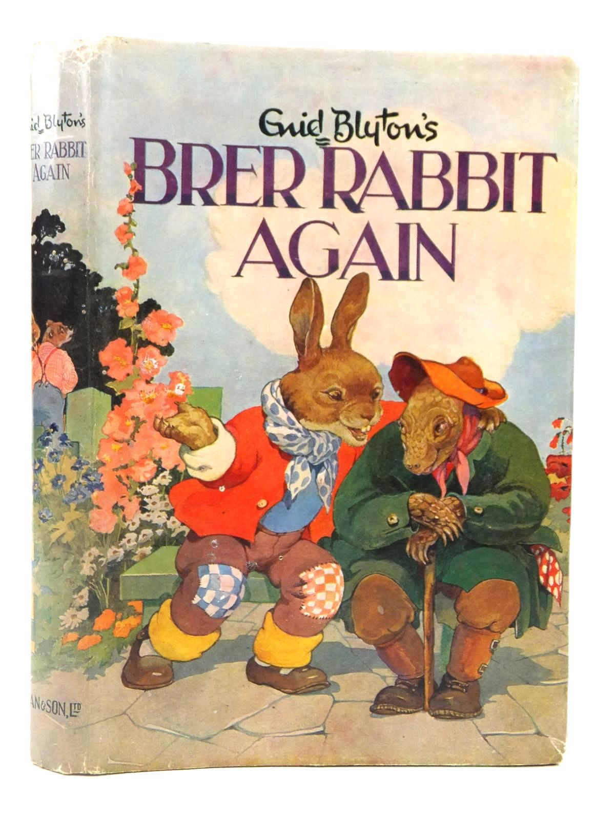 Photo of BRER RABBIT AGAIN written by Blyton, Enid illustrated by Lodge, Grace published by Dean & Son Ltd. (STOCK CODE: 2122212)  for sale by Stella & Rose's Books