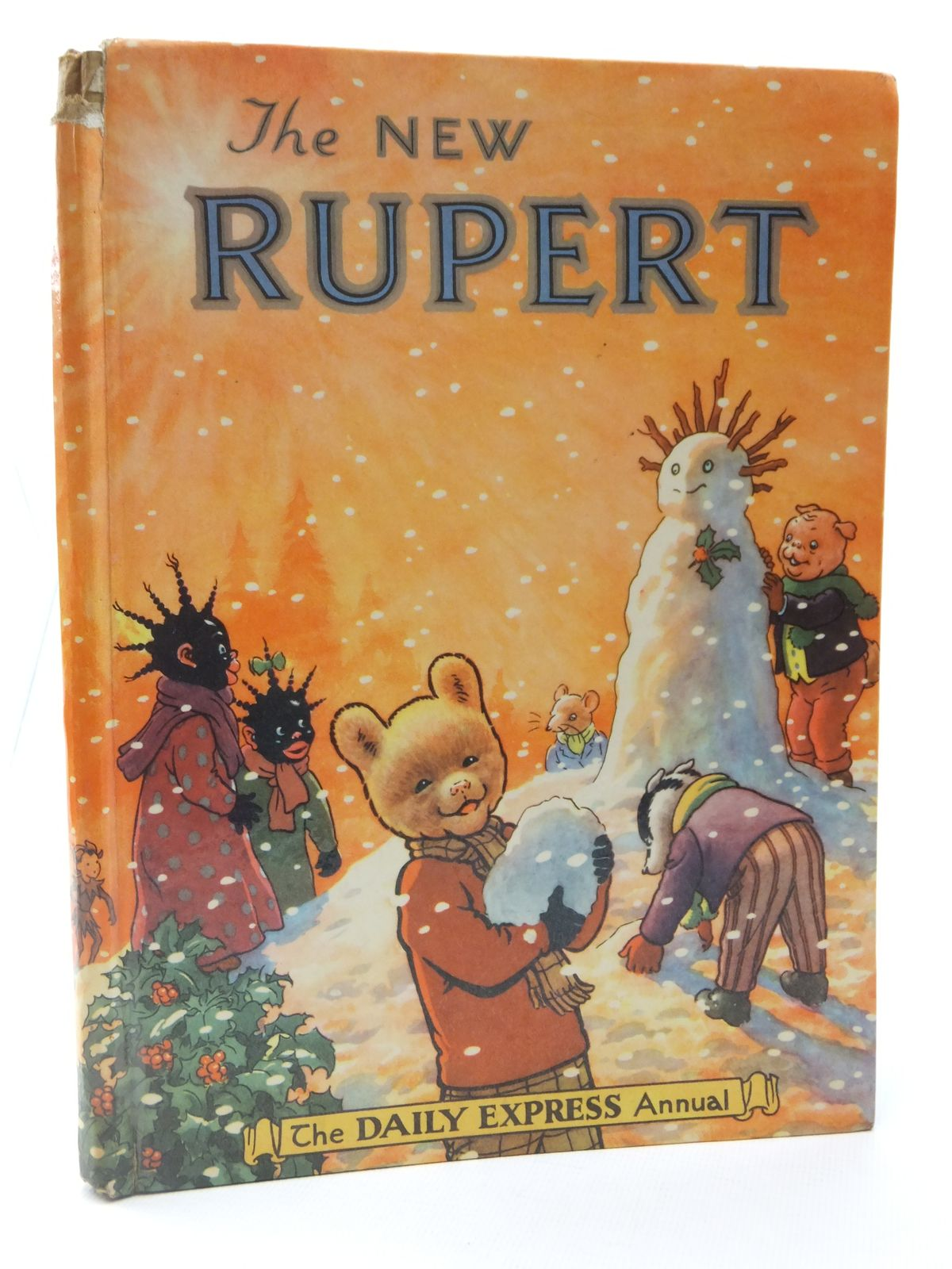 Photo of RUPERT ANNUAL 1954 - THE NEW RUPERT written by Bestall, Alfred illustrated by Bestall, Alfred published by Daily Express (STOCK CODE: 2122245)  for sale by Stella & Rose's Books