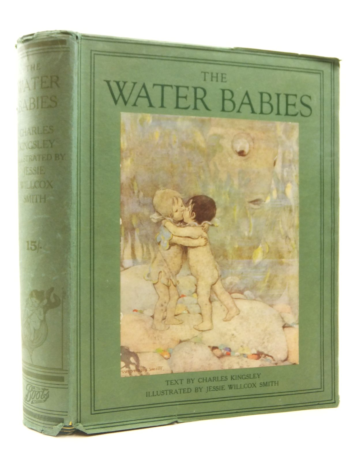 Photo of THE WATER BABIES written by Kingsley, Charles illustrated by Smith, Jessie Willcox published by Boots the Chemists (STOCK CODE: 2122257)  for sale by Stella & Rose's Books